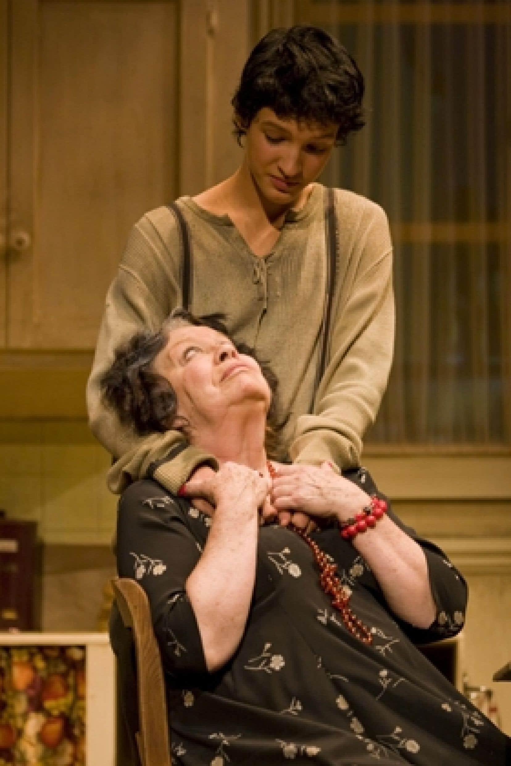 La pièce La vie devant soi de Romain Gary, présentée au Théâtre du Rideau Vert.