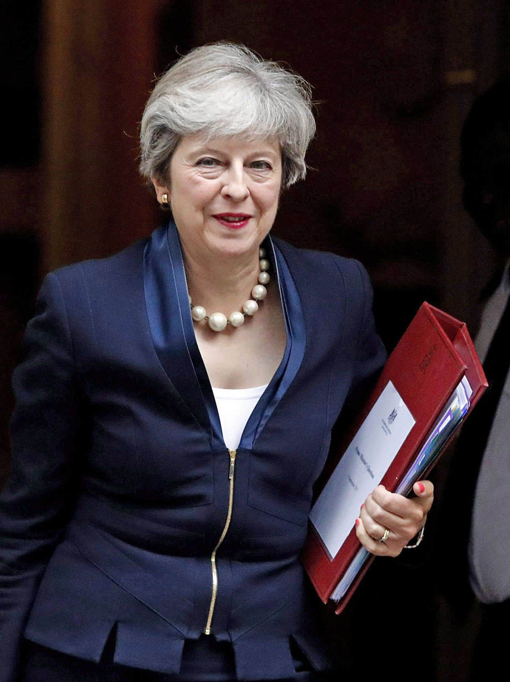 La première ministre du Royaume-Uni sera au Canada lundi et s'entrediendra avec Justin Trudeau.