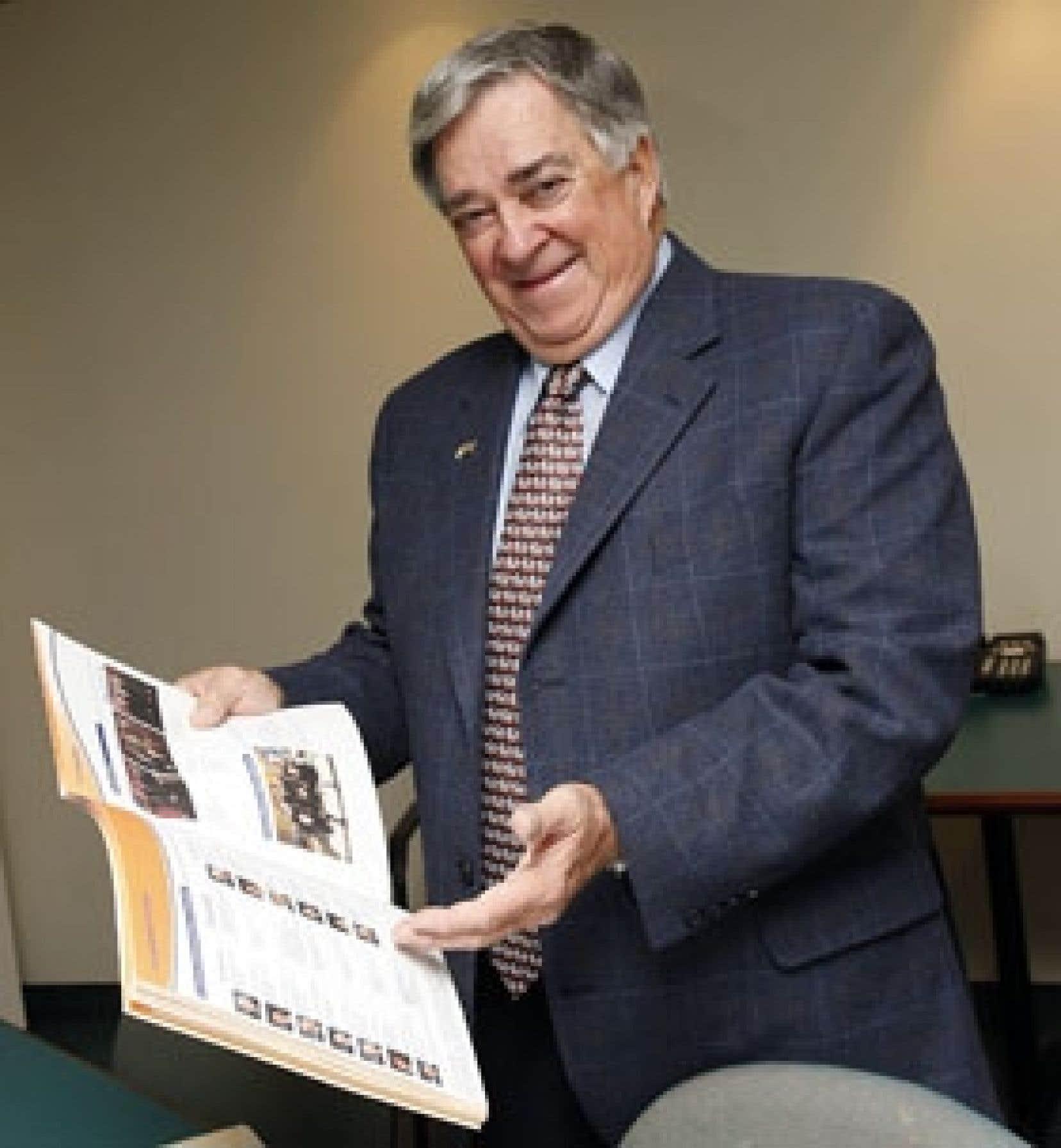Jean Marchand a été un leader dans le monde des affaires et continue de jouer un rôle actif dans Fondation Universitas.