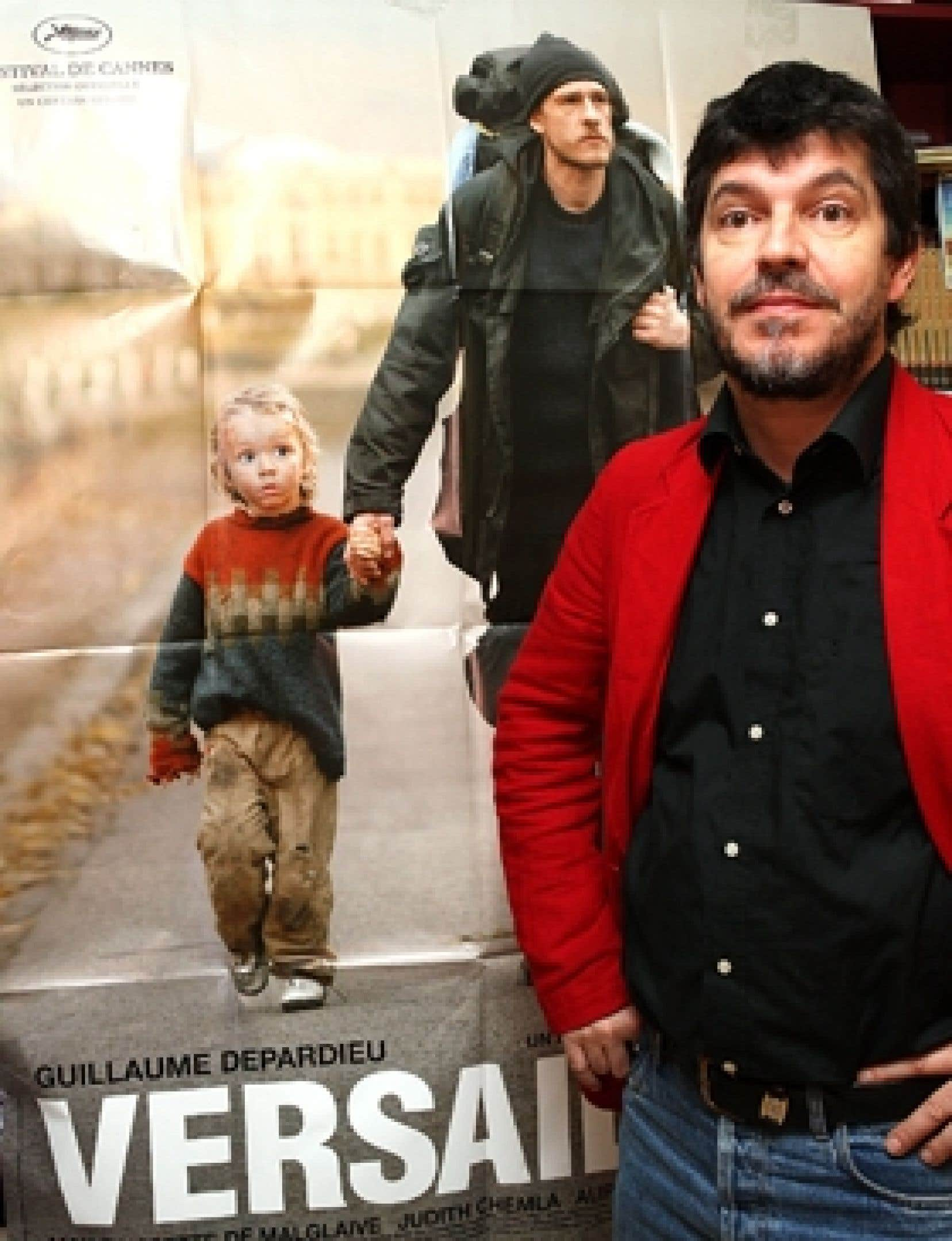 Pierre Schoeller, réalisateur de Versailles, est de passage à Montréal dans le cadre de Cinemania.