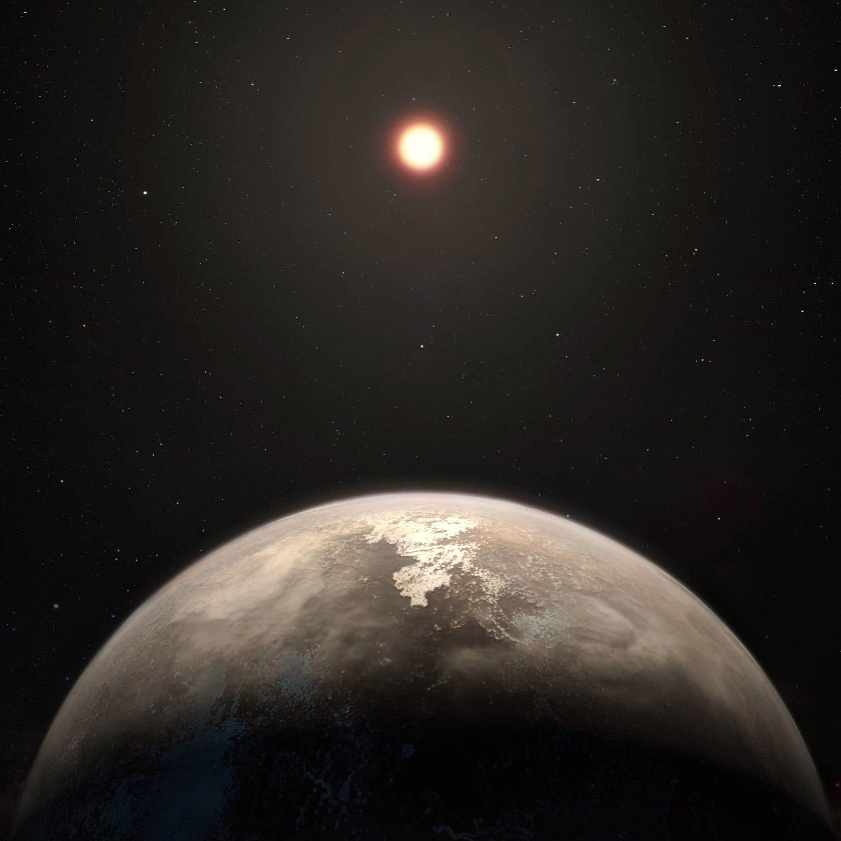 Ross 128b représente l'exo-Terre tempérée la plus proche de nous après Proxima b.