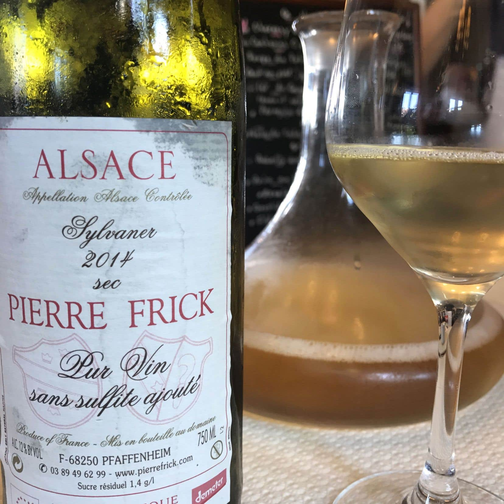 Plus qu'un Alsace… c'est du Frick!