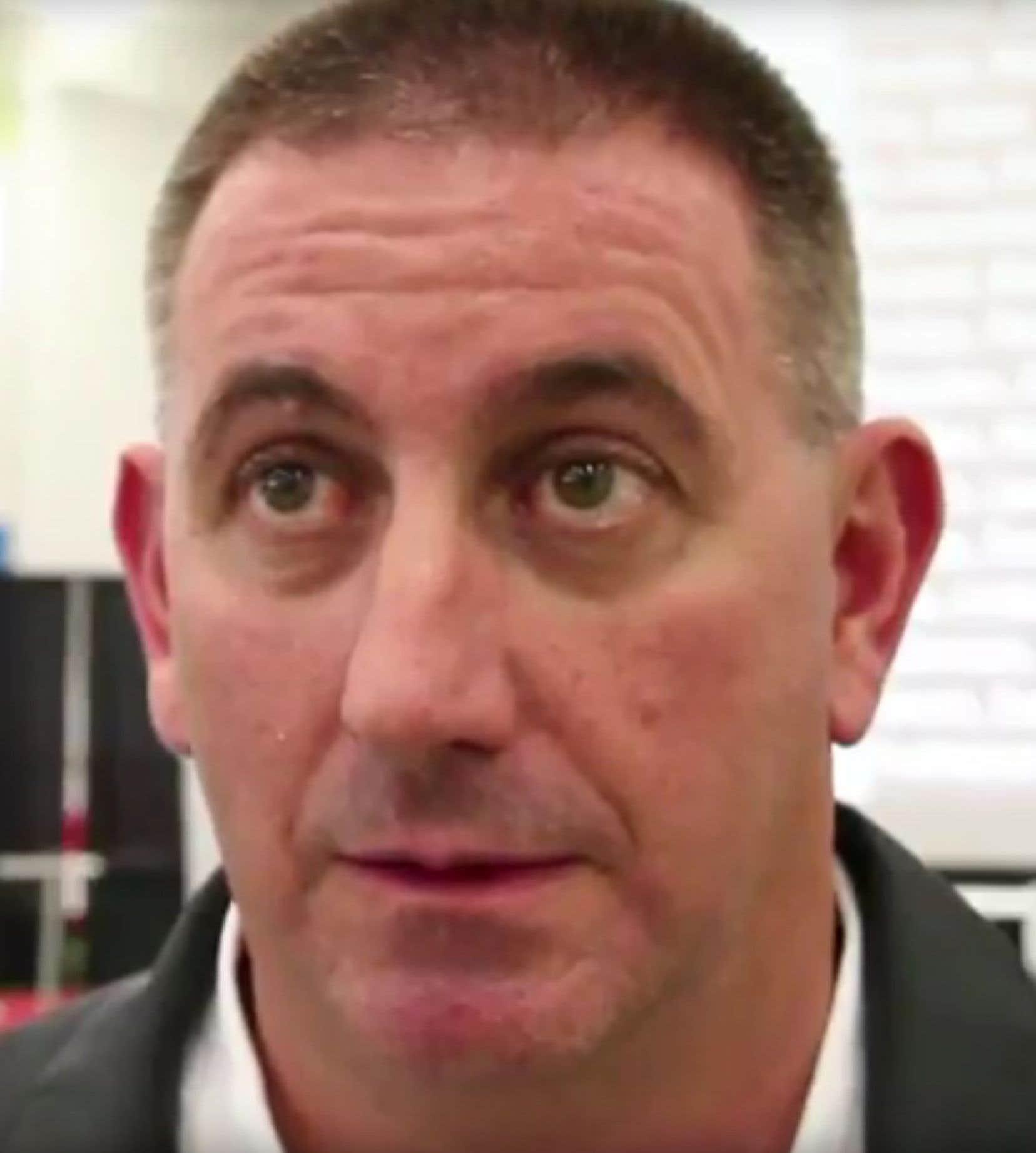 Le directeur de l'équipe nationale féminine de Gymnastique Canada, Dave Brubaker
