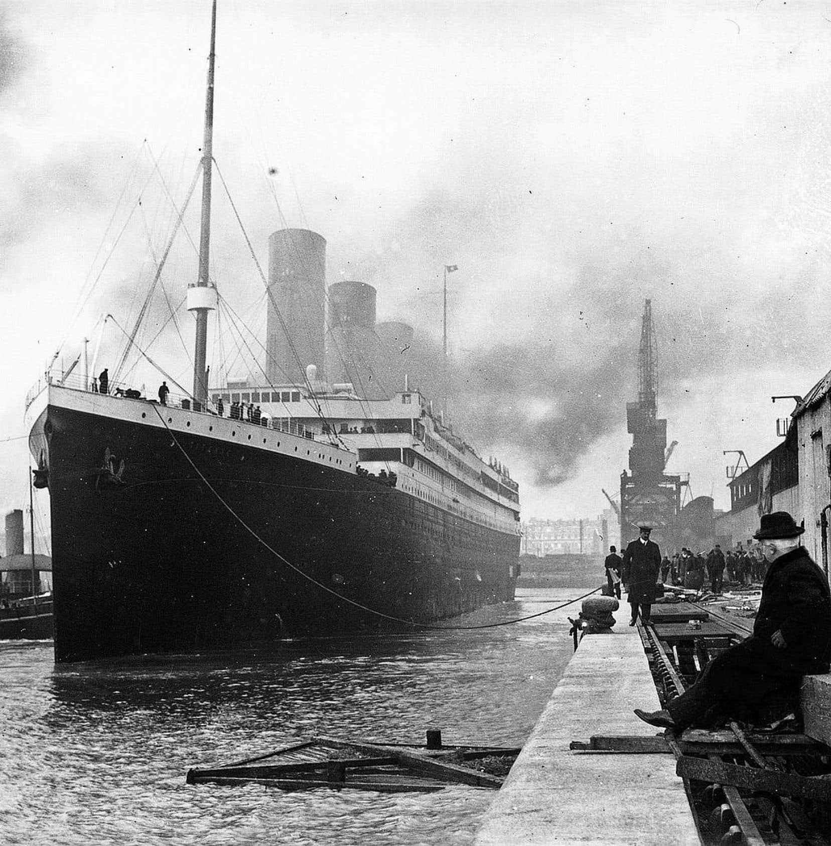 Le célèbre Titanic, en 1912