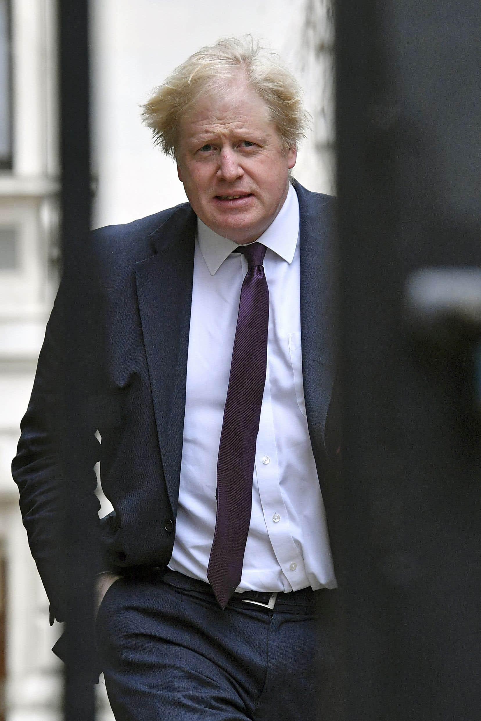 Le ministre anglais des Affaires étrangères, Boris Johnson, mardi dernier