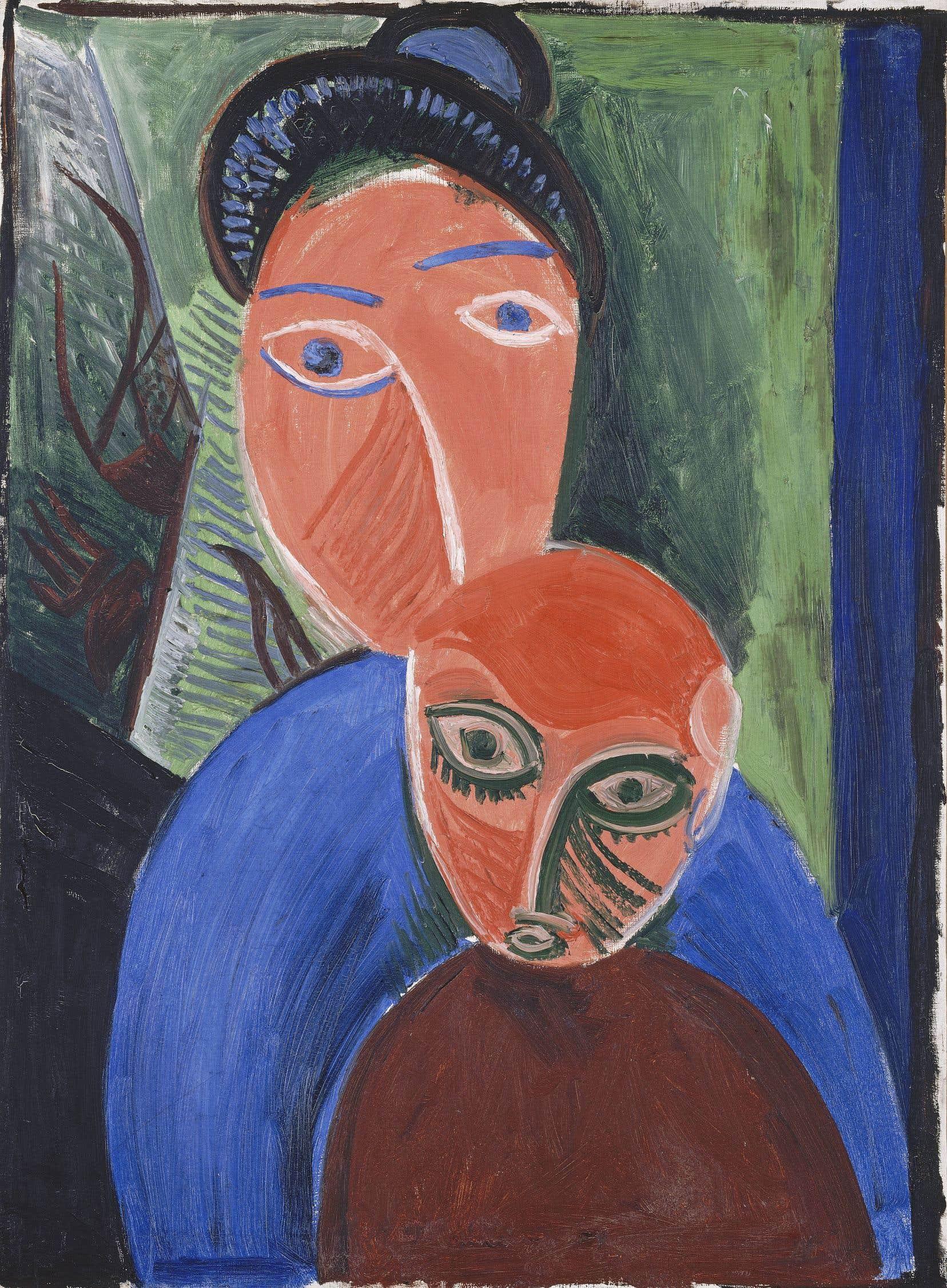 Pablo Picasso, «Mère et enfant», Paris, été 1907