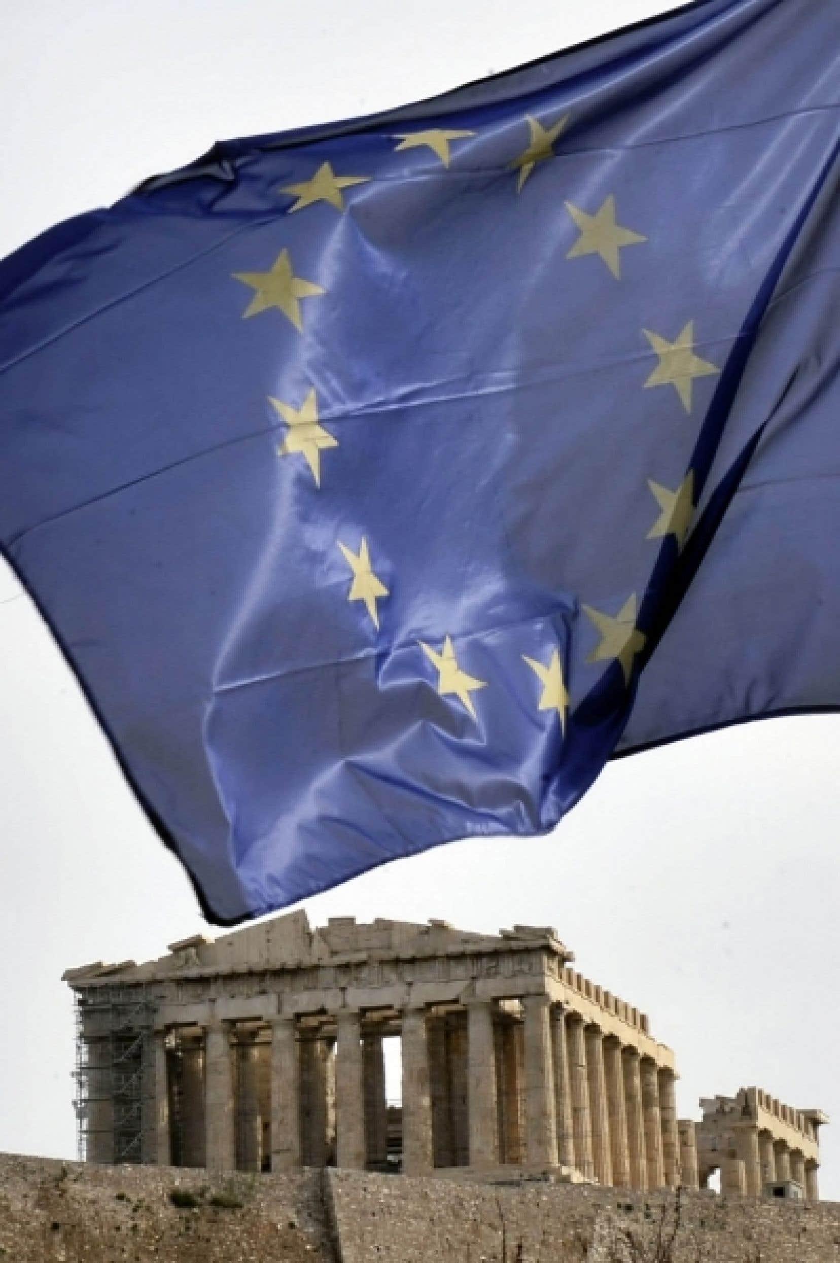 La Grèce négocie avec l'UE et le FMI les modalités d'une aide de 40 à 45 milliards d'euros, destinée à lui permettre de mieux gérer une dette publique de 300 milliards d'euros dont le service lui revient de plus en plus cher sur les marchés.