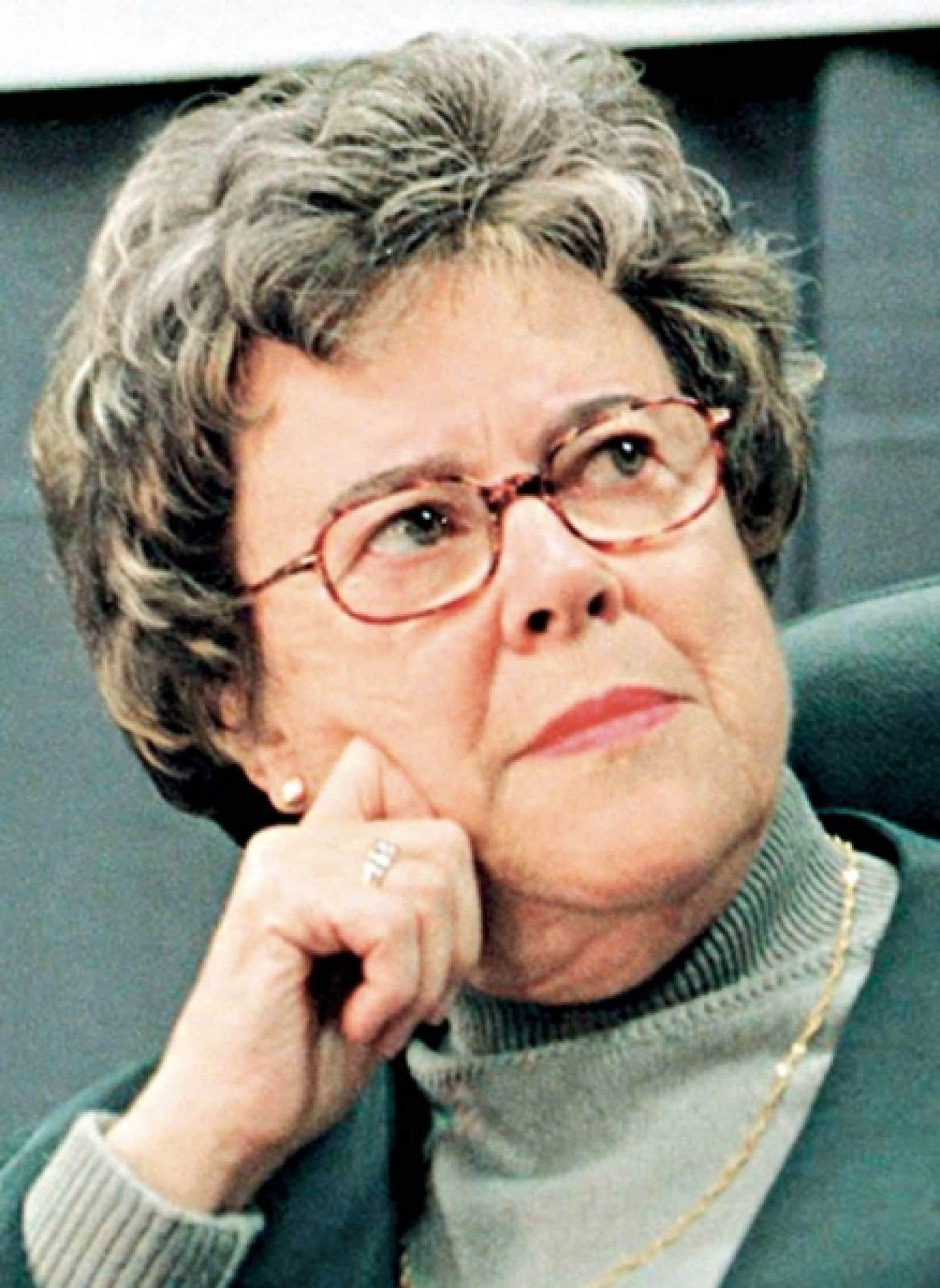 Claire L'Heureux-Dubé, ancienne juge à la Cour suprême