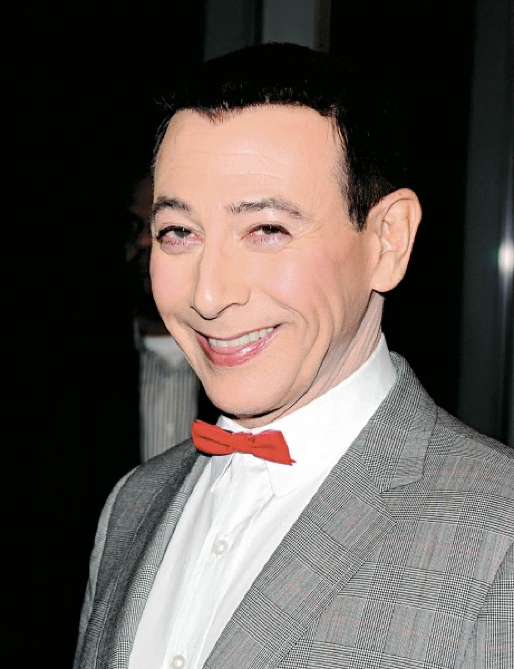 Paul Reubens, alias Pee-Wee Herman