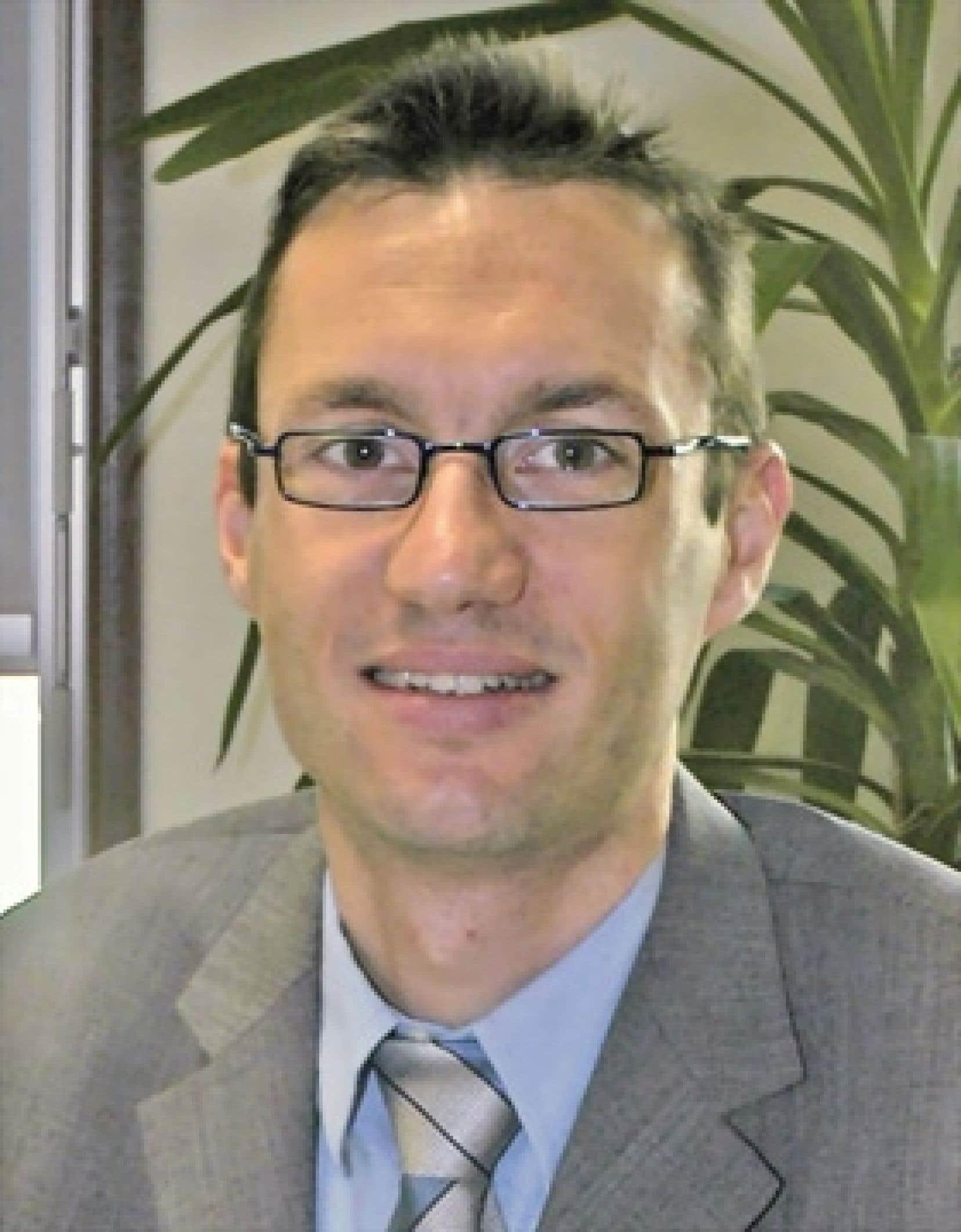 Pierre Hirtzberger, chef du service de développement de la Direction des résidus urbains de Lille Métropole Communauté urbaine