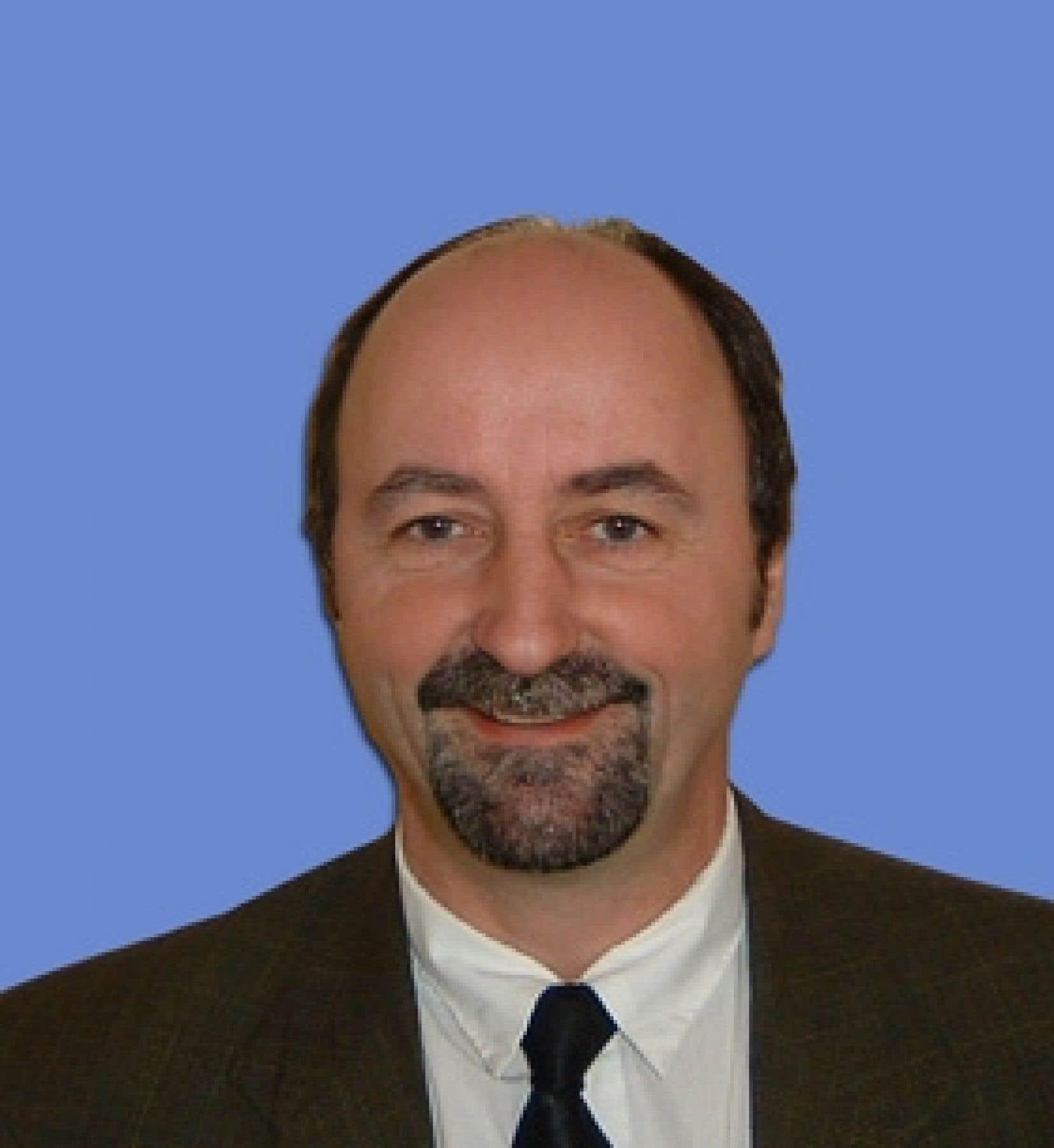 Jeannot Richard, vice-président du secteur municipal, industriel, commercial et institutionnel chez Recyc-Québec