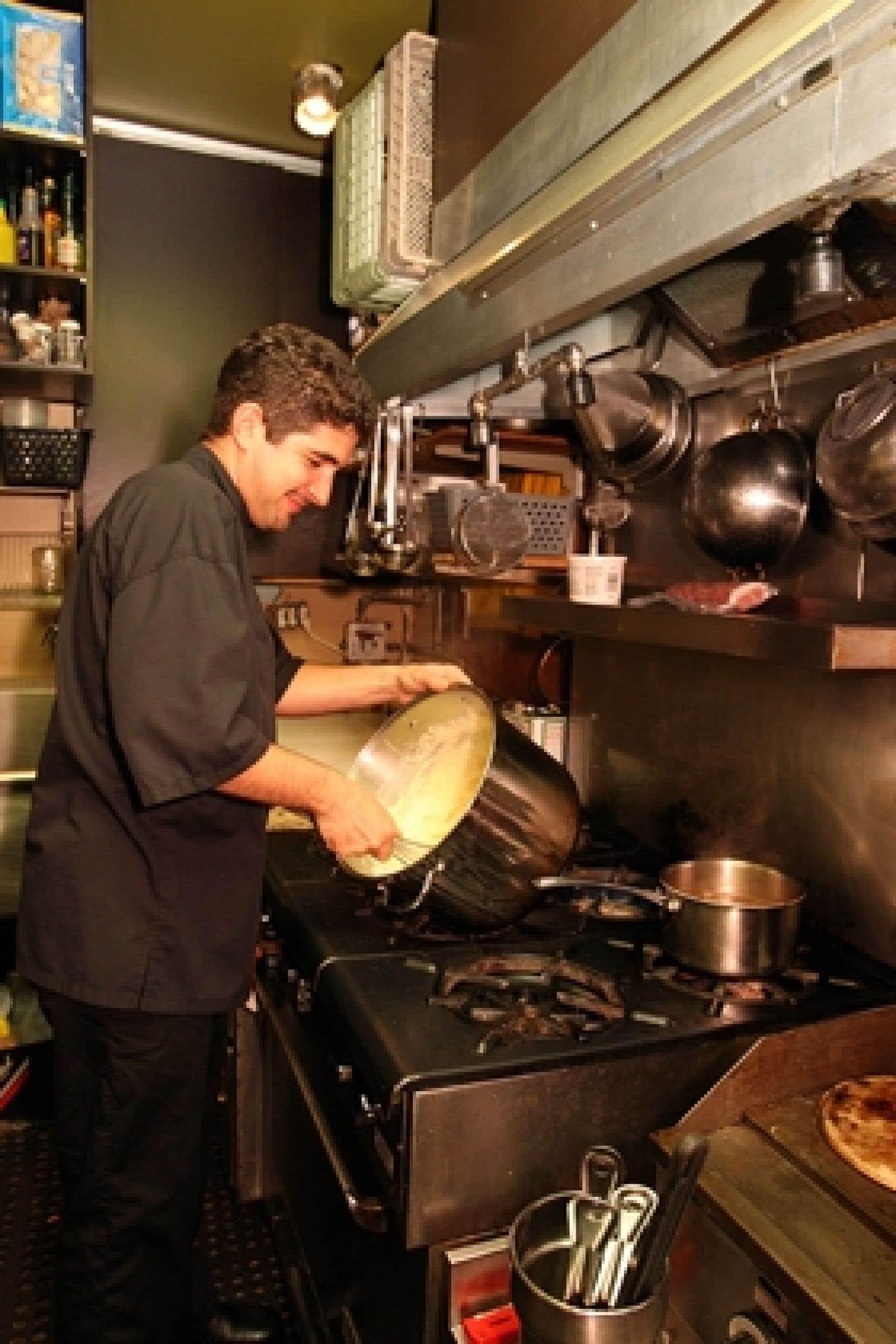 Le chef du restaurant Le Petit Toscan, Johann Atamian.