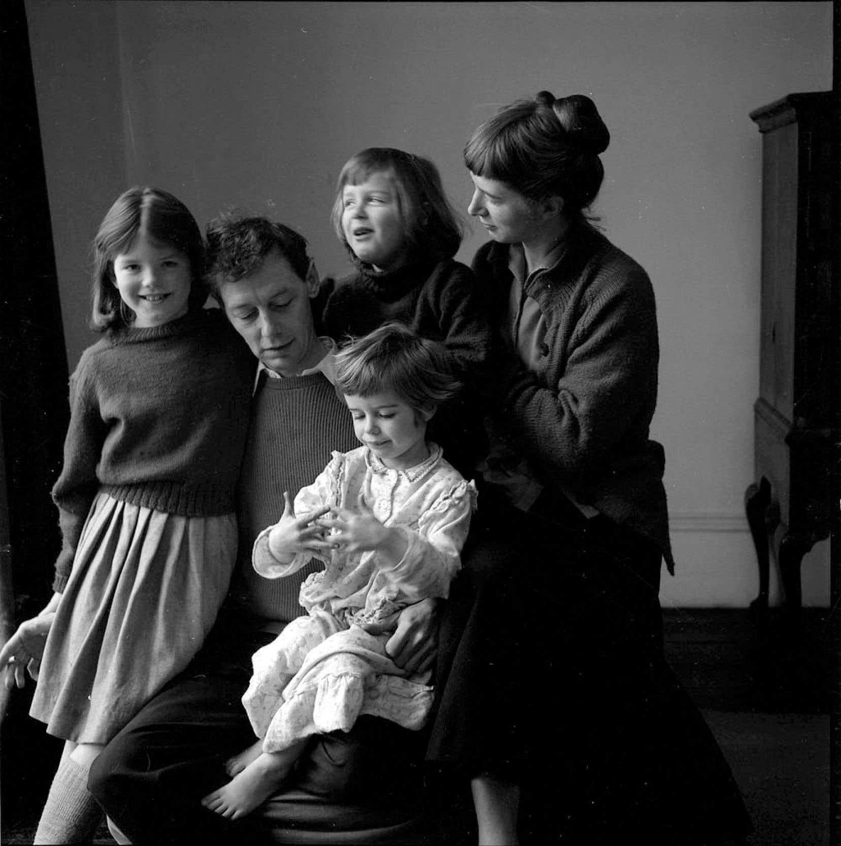 À l'instar des ménages du Québec dans les dernières années du baby-boom, la famille Piper comptait trois enfants au tournant des années 1960.