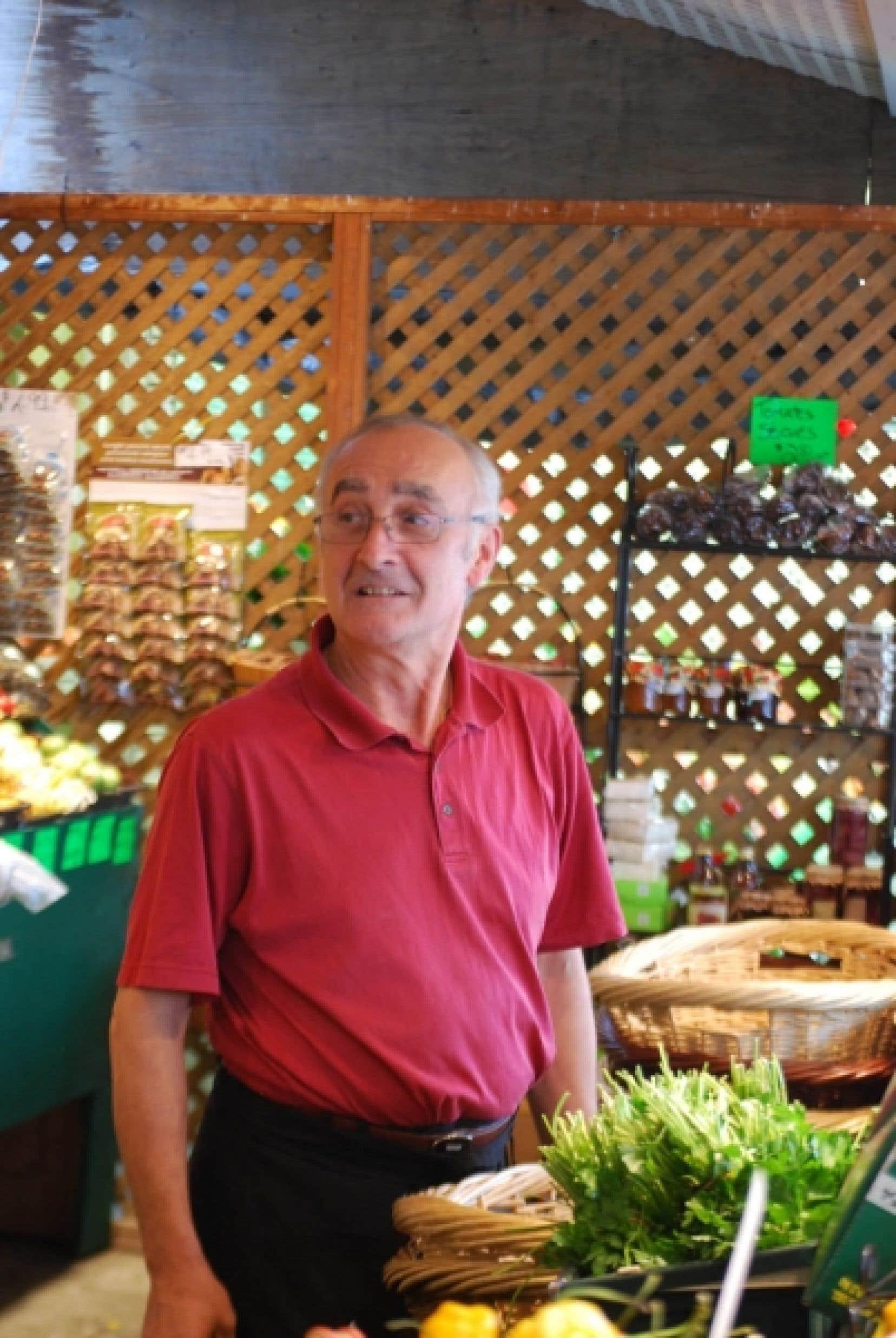 Nino fait partie de ceux qui sont à l'origine de la notoriété du marché Jean-Talon.