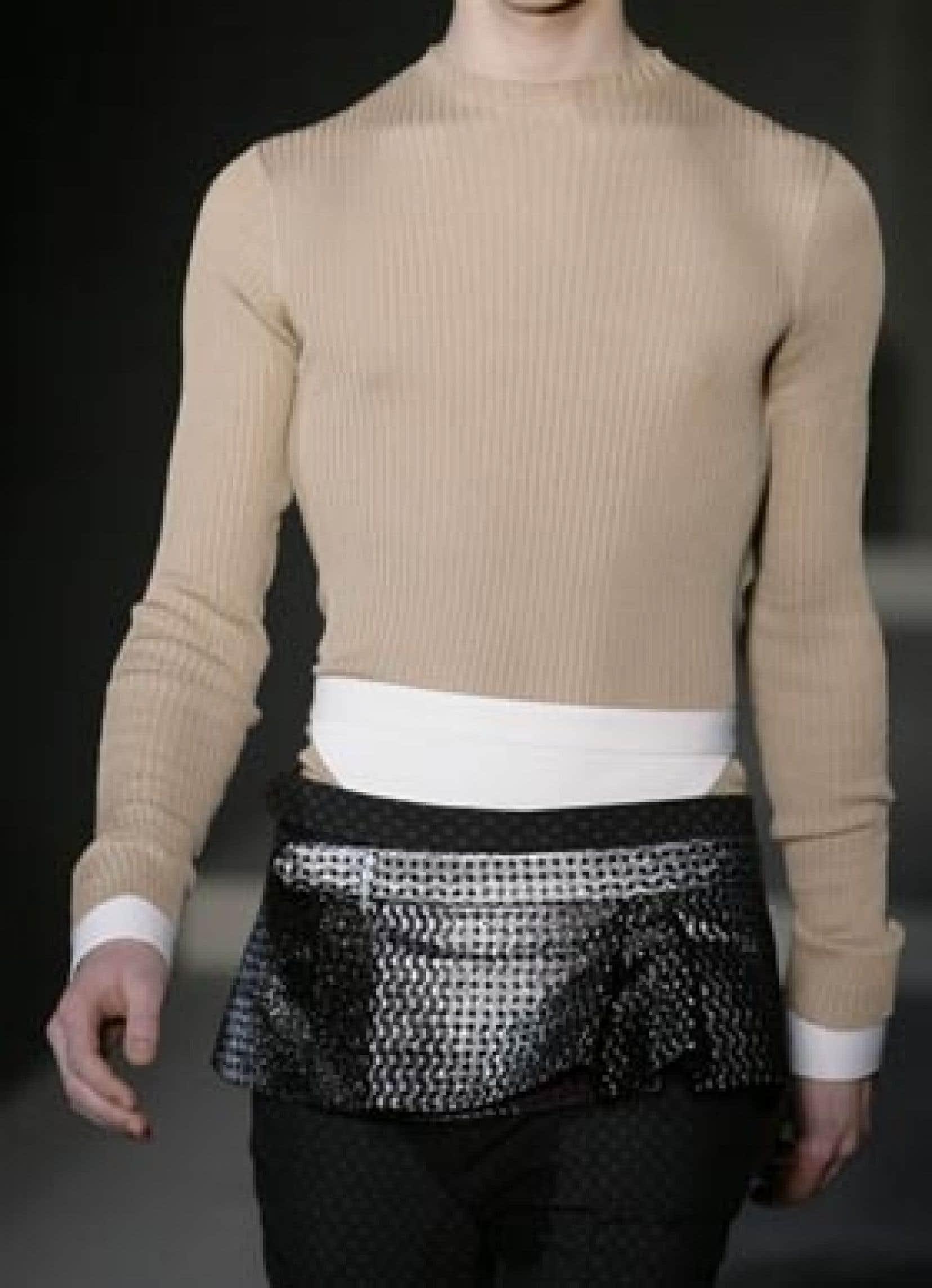 De la collection Prada automne-hiver 2008-09.