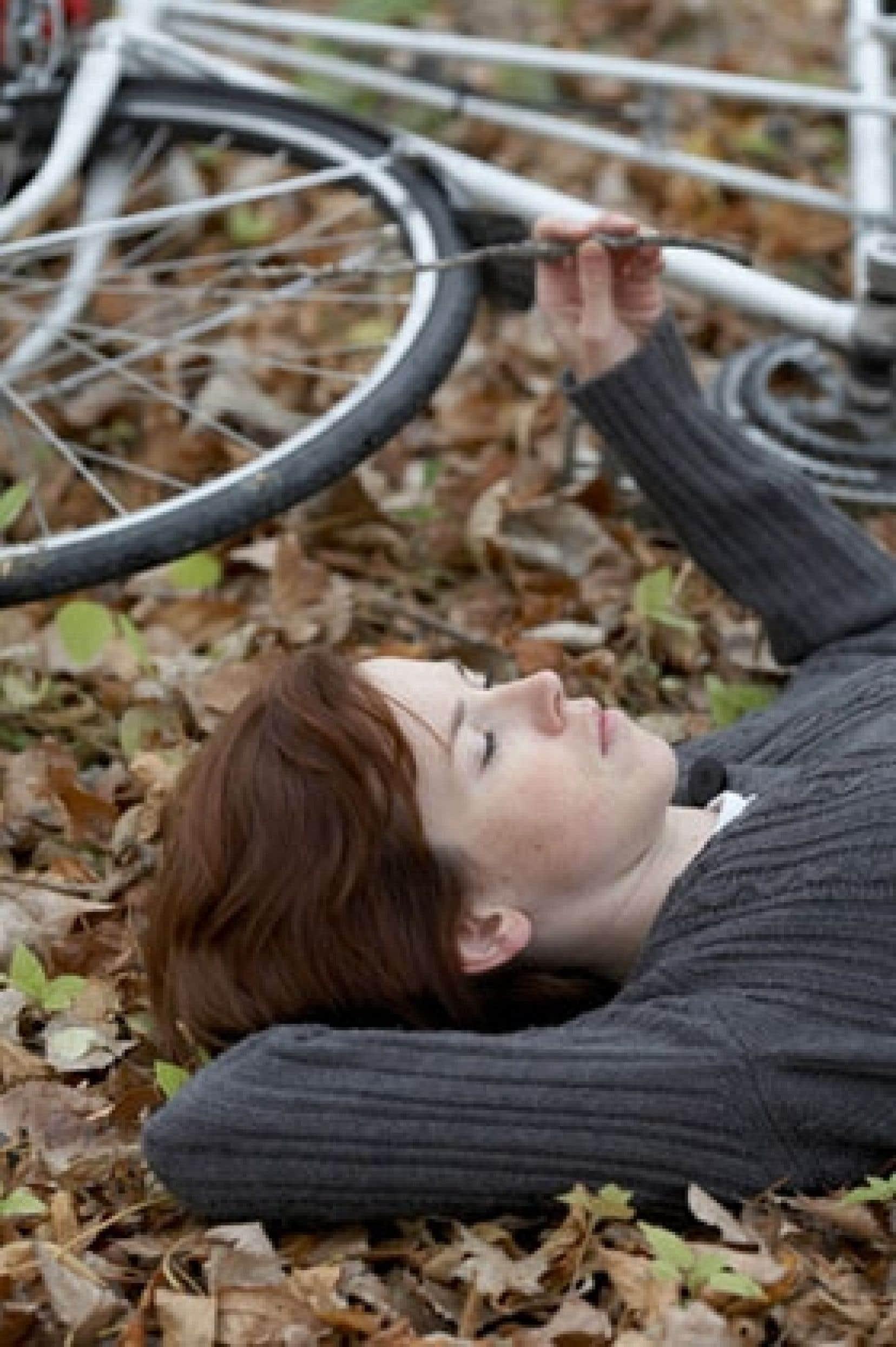 Eugénie Beaudry dans le long métrage Demain.