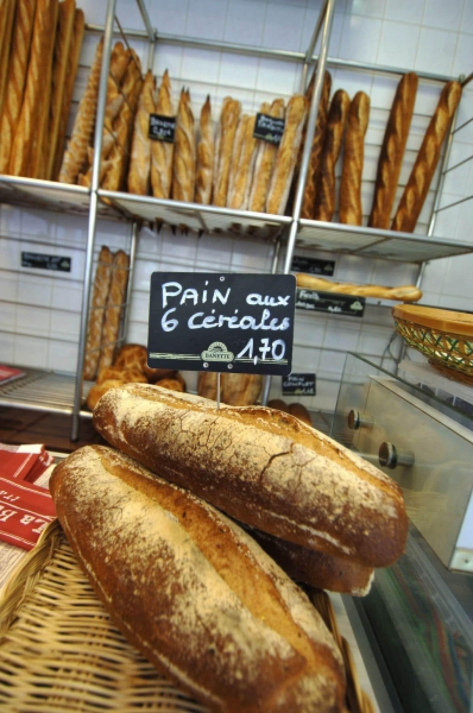 Certains pains peuvent contenir des fèves de haricot, de soya, de l'acide ascorbique, du malt.<br />