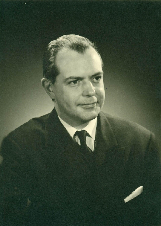 Jean-Marc Léger, dans les années 1960.<br />