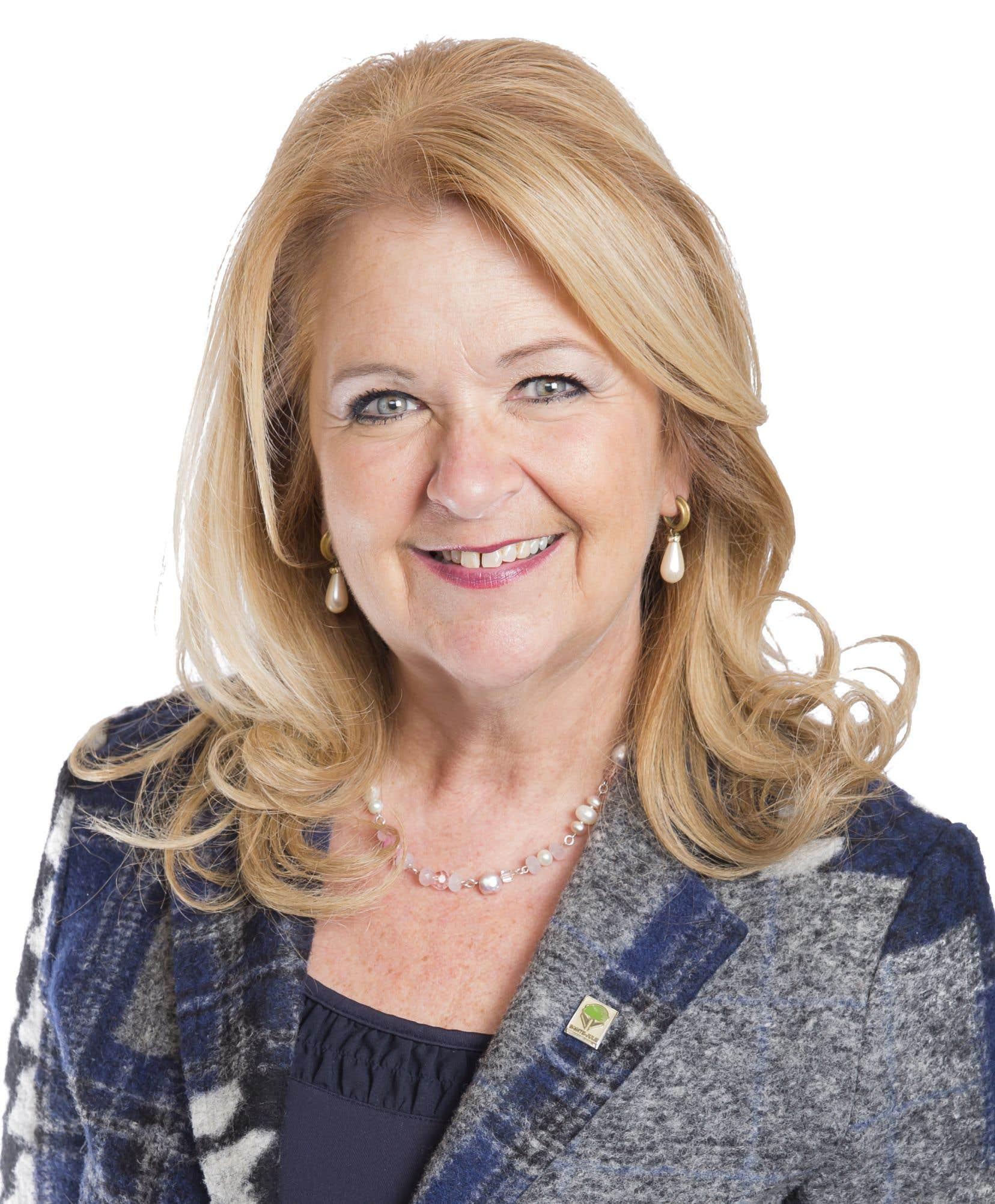 Suzanne Roy, présidente de la Commission des assises 2019 de l'Union des municipalités du Québec (UMQ) et mairesse de Sainte-Julie