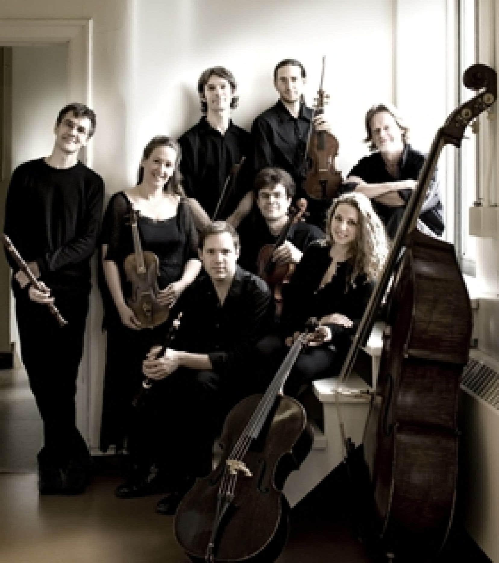 L'ensemble de musique baroque Les Boréades