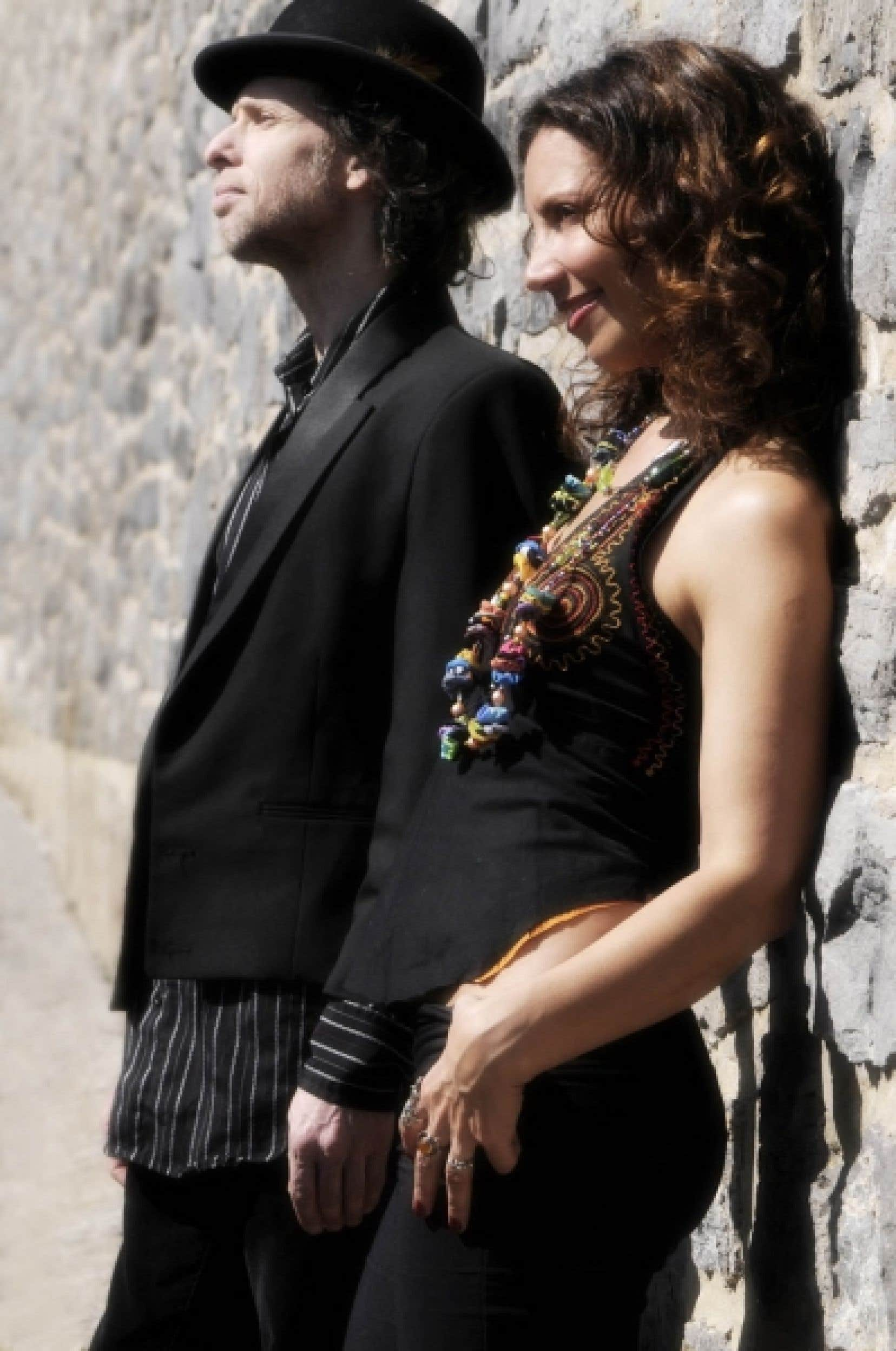 Yves Desrosiers et Bïa<br />