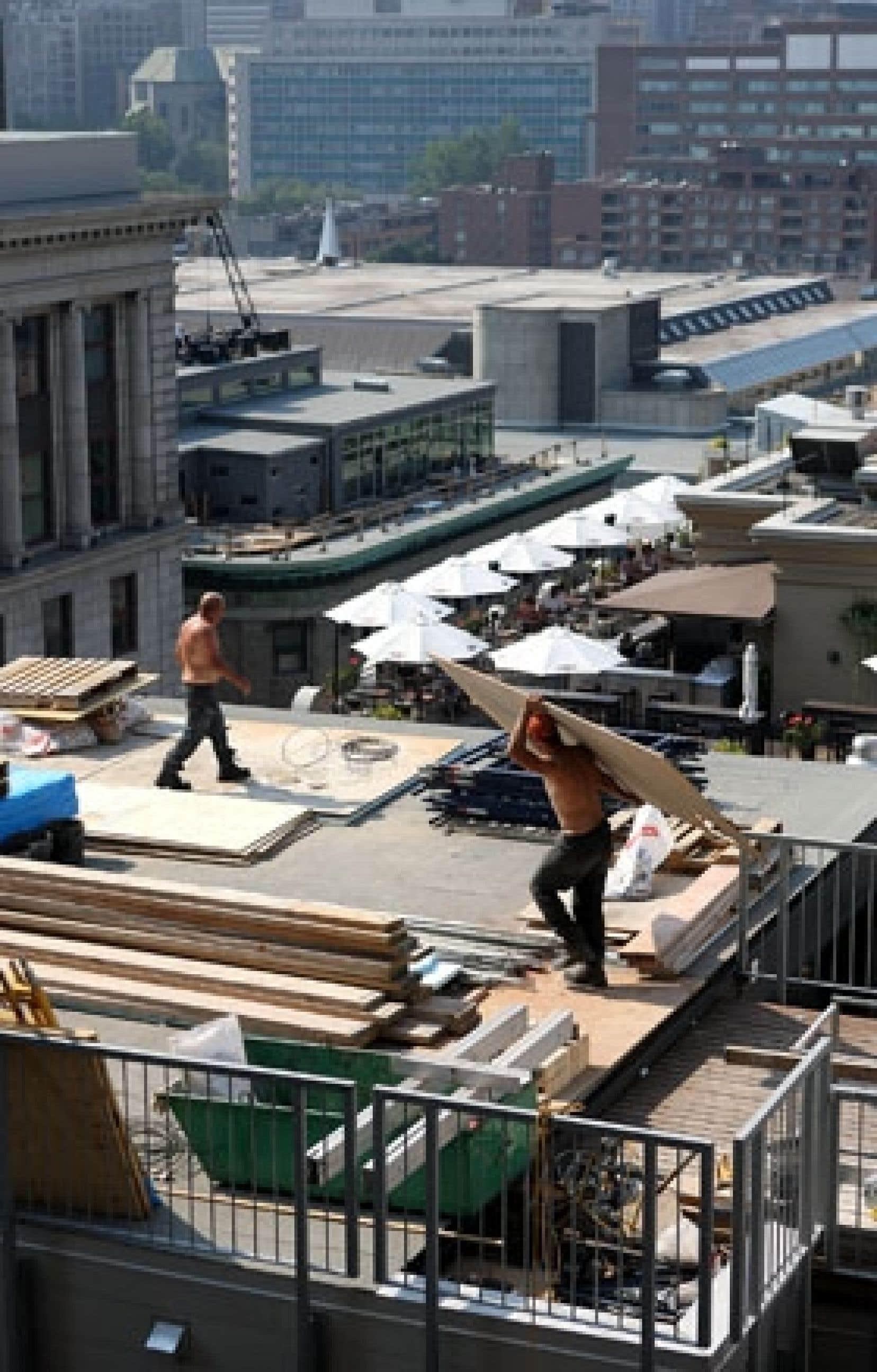 La valeur des permis de bâtir a crû dans six provinces en juillet. Les plus fortes augmentations ont été enregistrées au Québec.