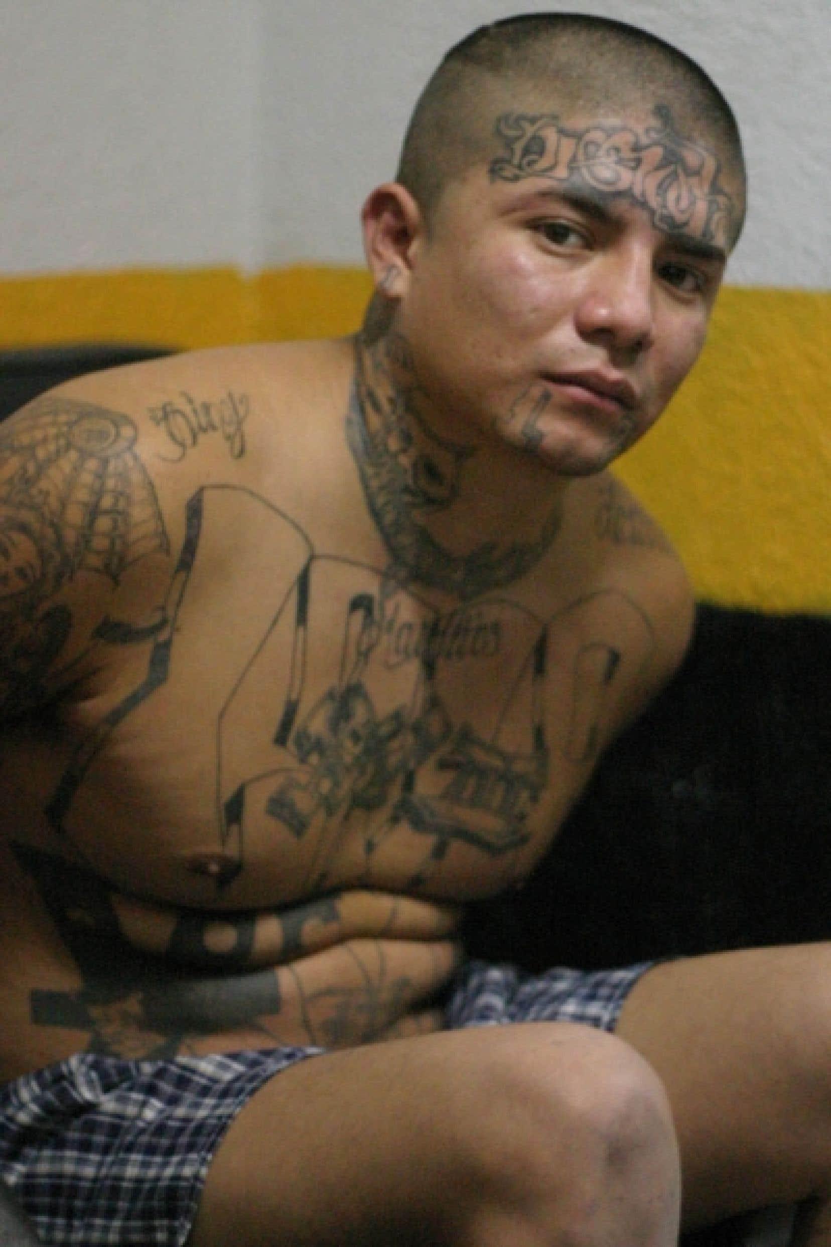 Alex Danilo Ramirez, un des dirigeants de la Mara 18, a été arrêté l'an dernier au Guatemala.
