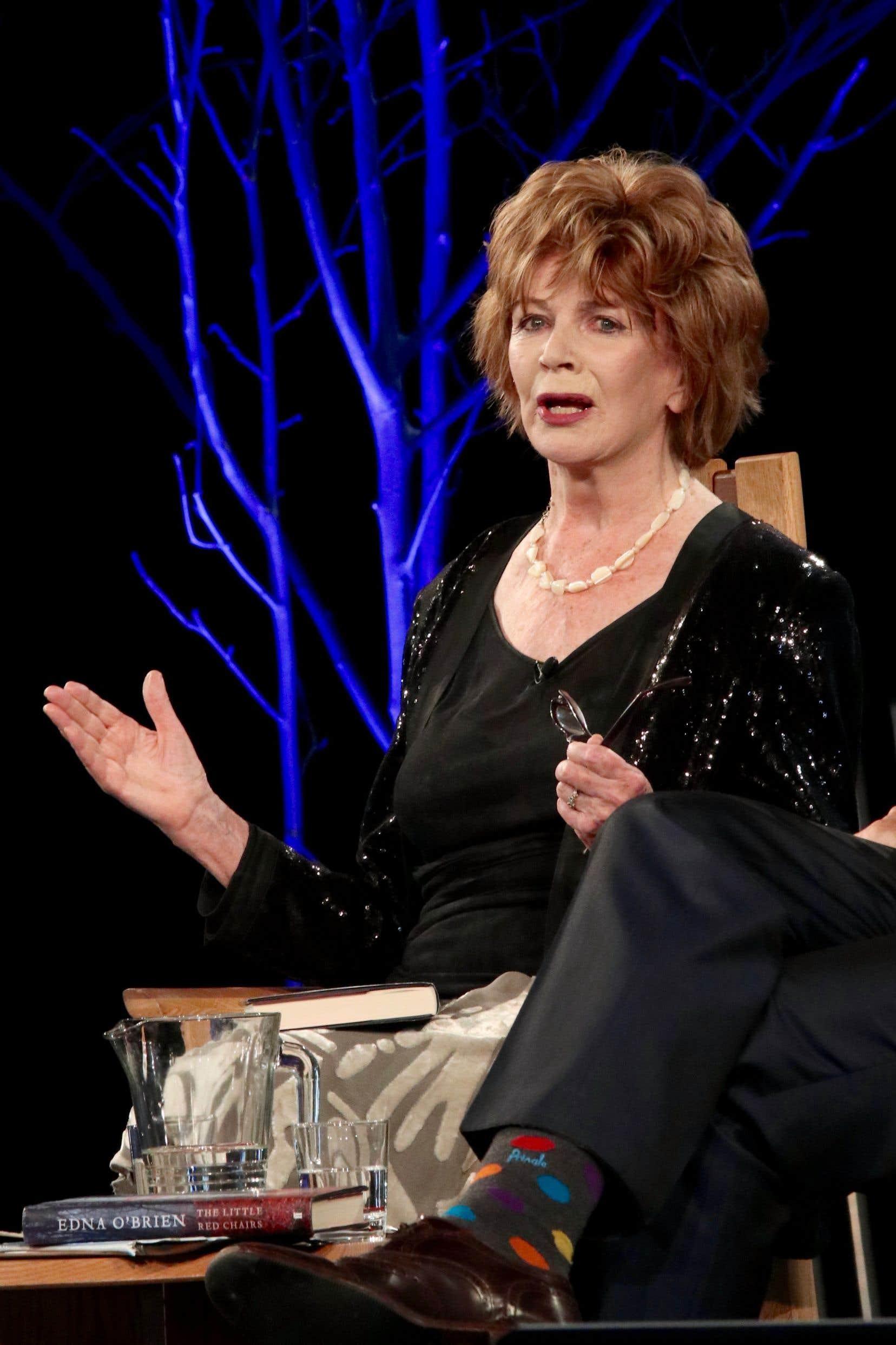 Pour Edna O'Brien, la littérature est encore le moyen de prêter sa voix aux personnes qui n'en ont pas.
