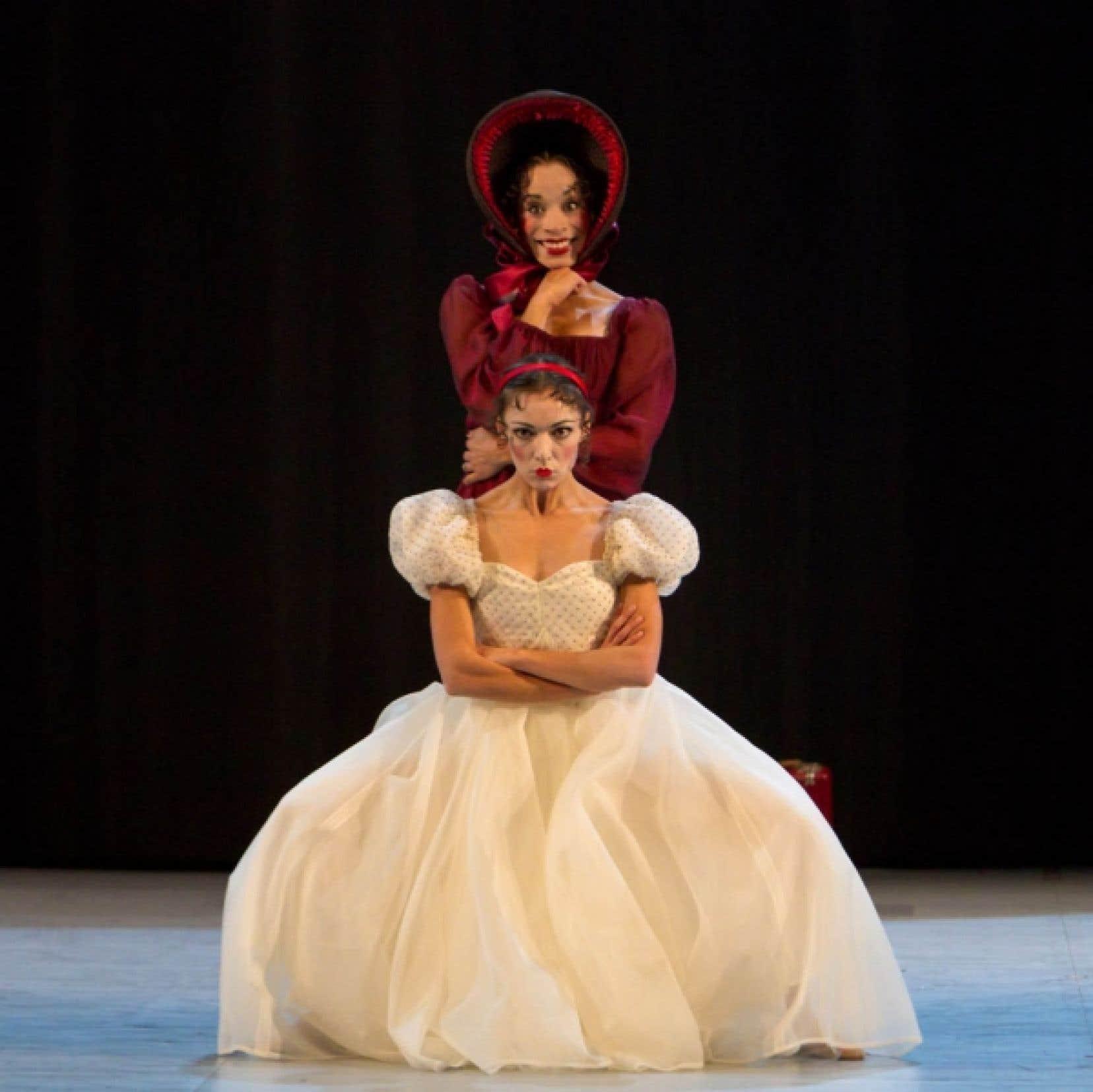 Émilie Durville et Vanesa G.R. Montoya dans une scène de Léonce & Léna.<br />