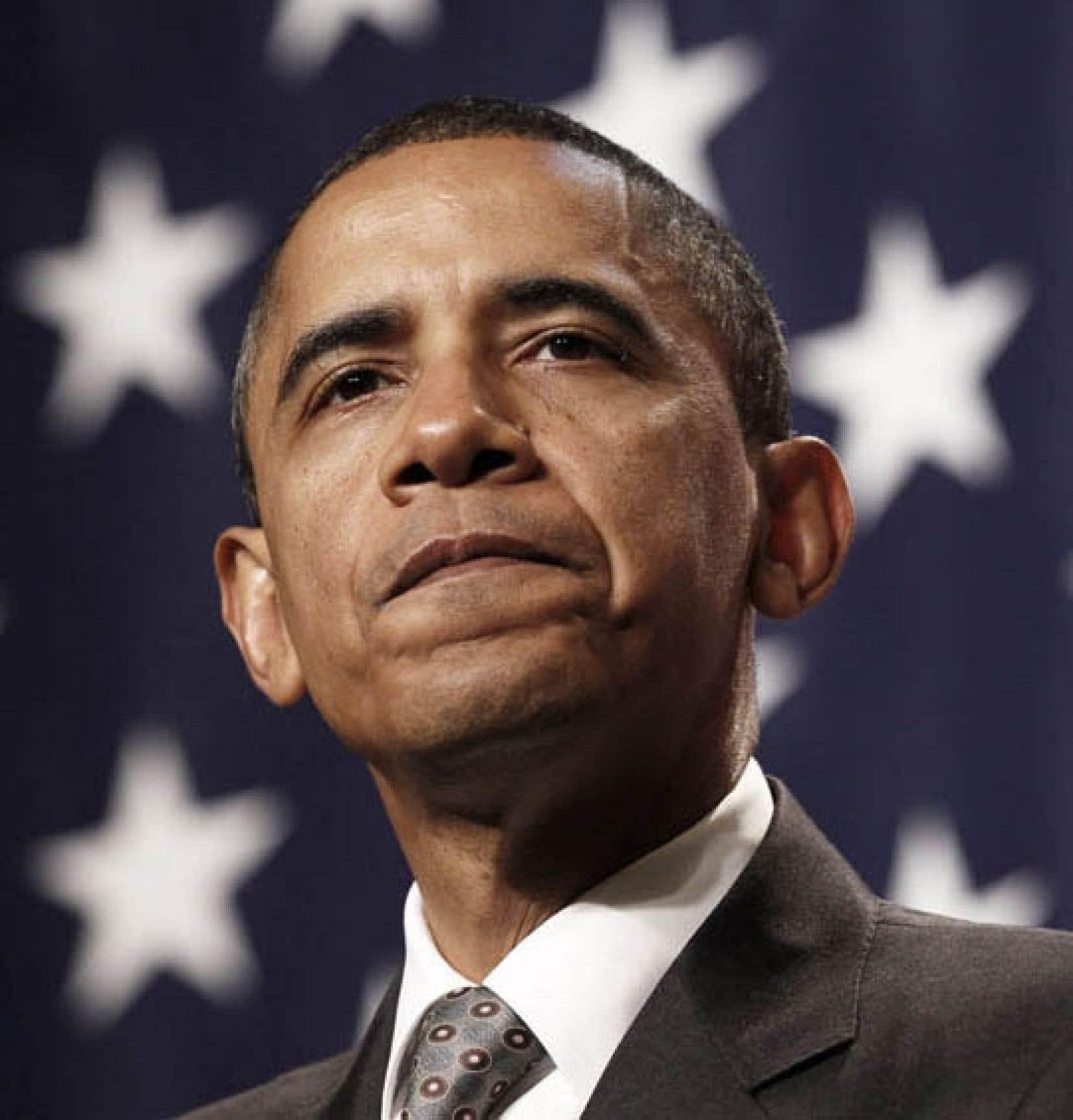 «La tendance est que le parti du président en exercice perd des sièges durant les élections de mi-mandat», a reconnu mercredi Barack Obama.<br />