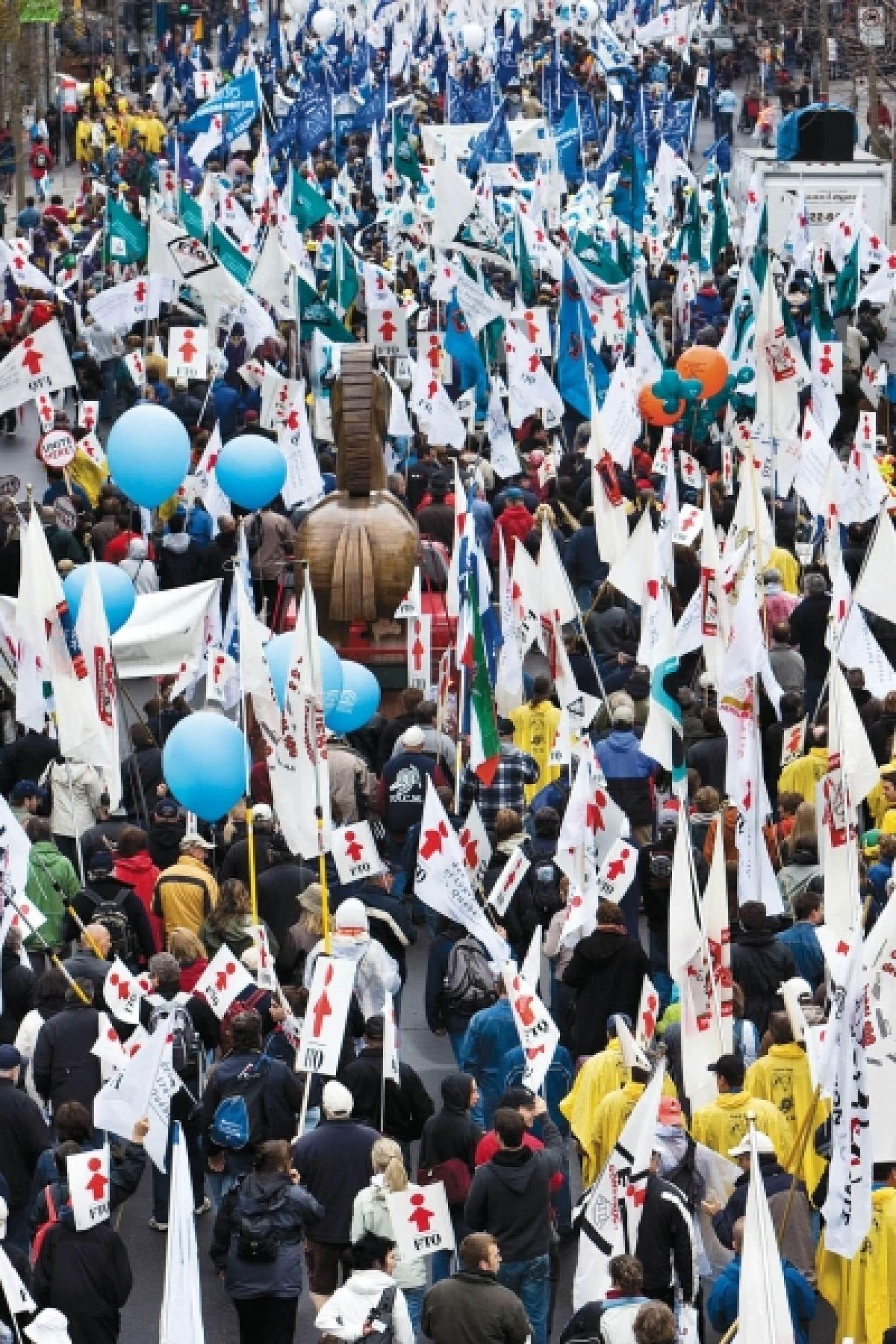 La Fédération des travailleurs du Québec en 2009, au rendez-vous du 1er mai<br />