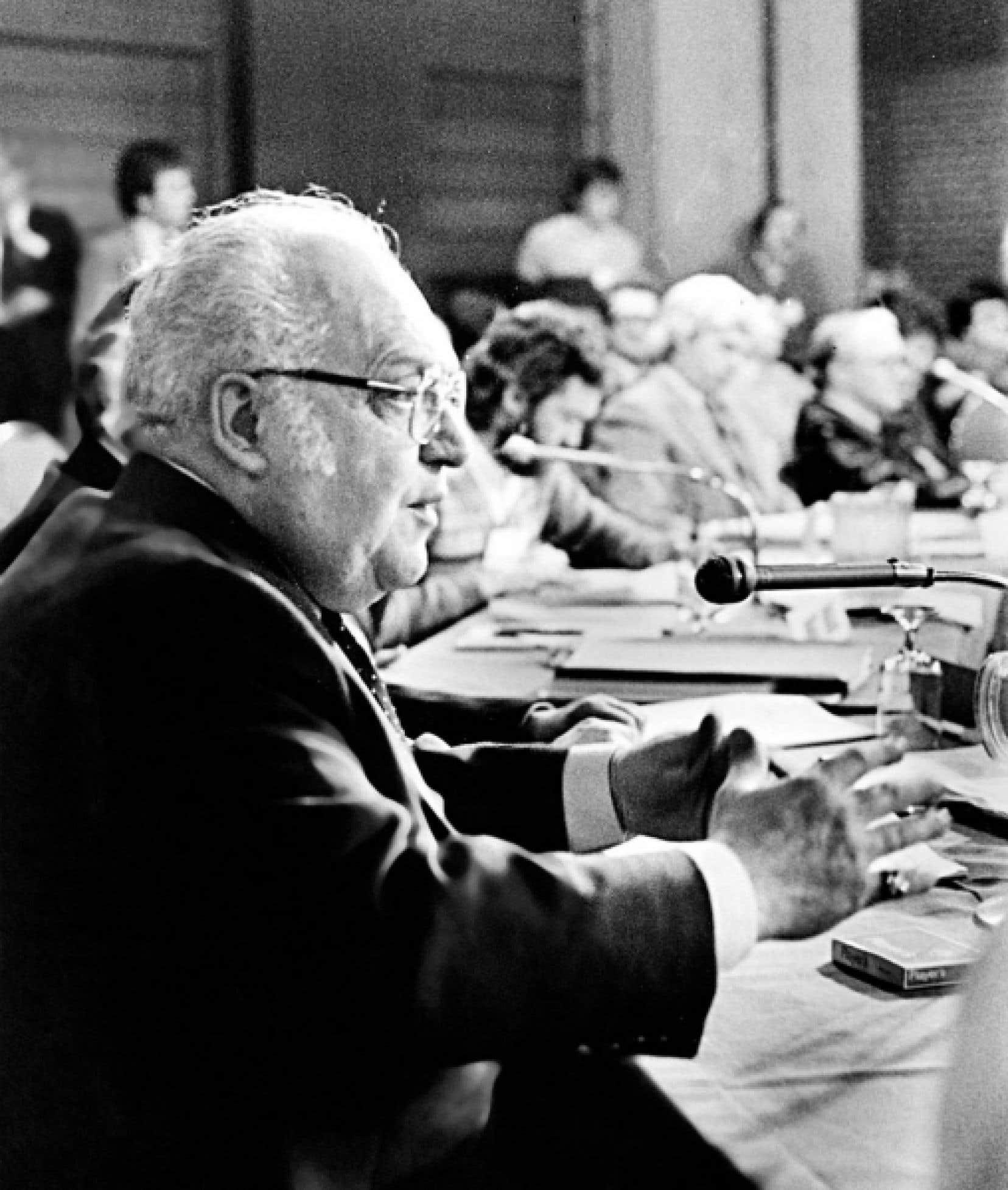 Louis Laberge a été président de la FTQ de 1964 à 1991 et président-fondateur du Fonds de solidarité FTQ.<br />