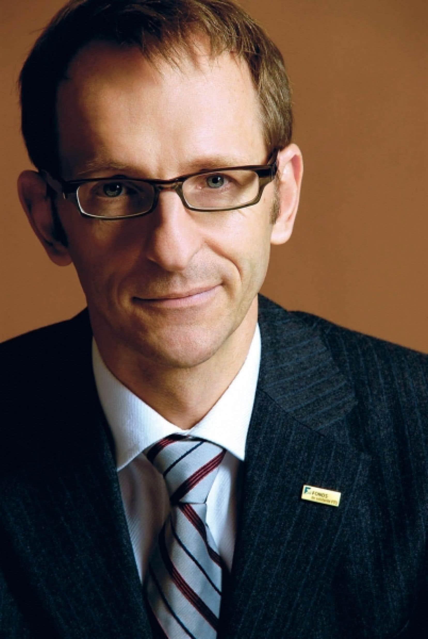 Michel Ducharme, président du Conseil régional du Montréal métropolitain<br />