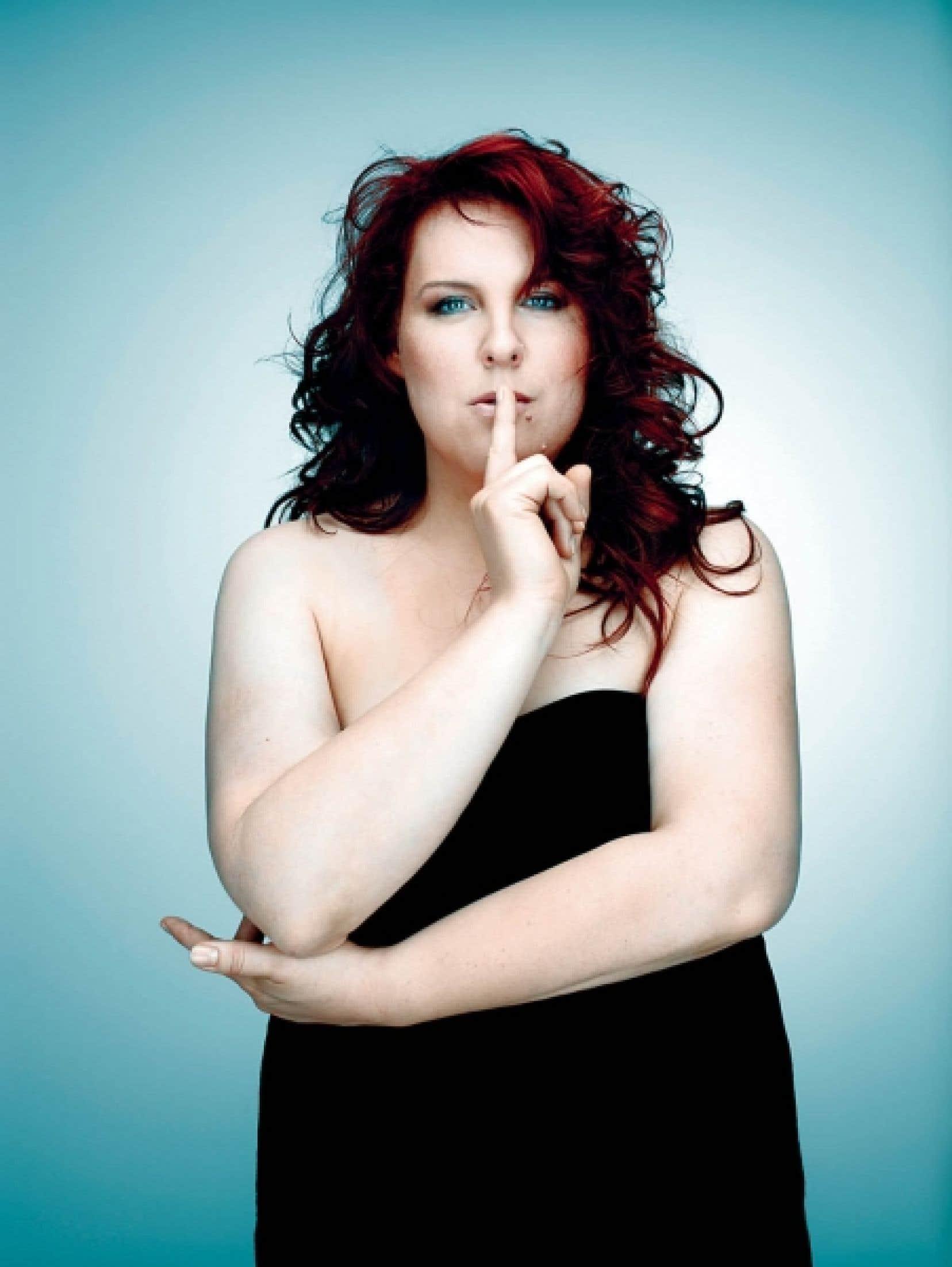 En entrevue au Devoir, Marie-Nicole Lemieux confirme que sa voix évolue.<br />