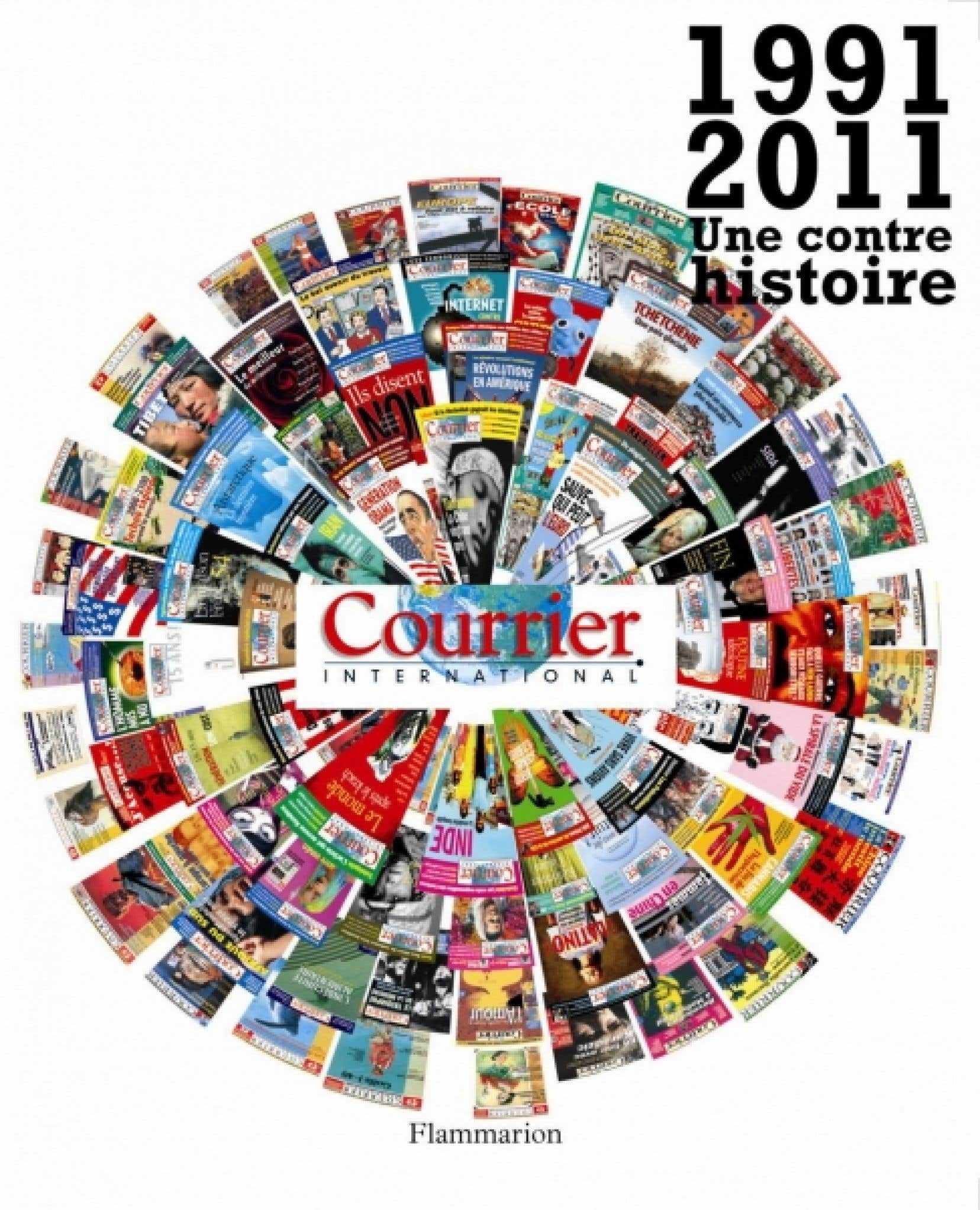 Le livre publié à l'occasion des 20 ans de Courrier international est une anthologie d'articles.