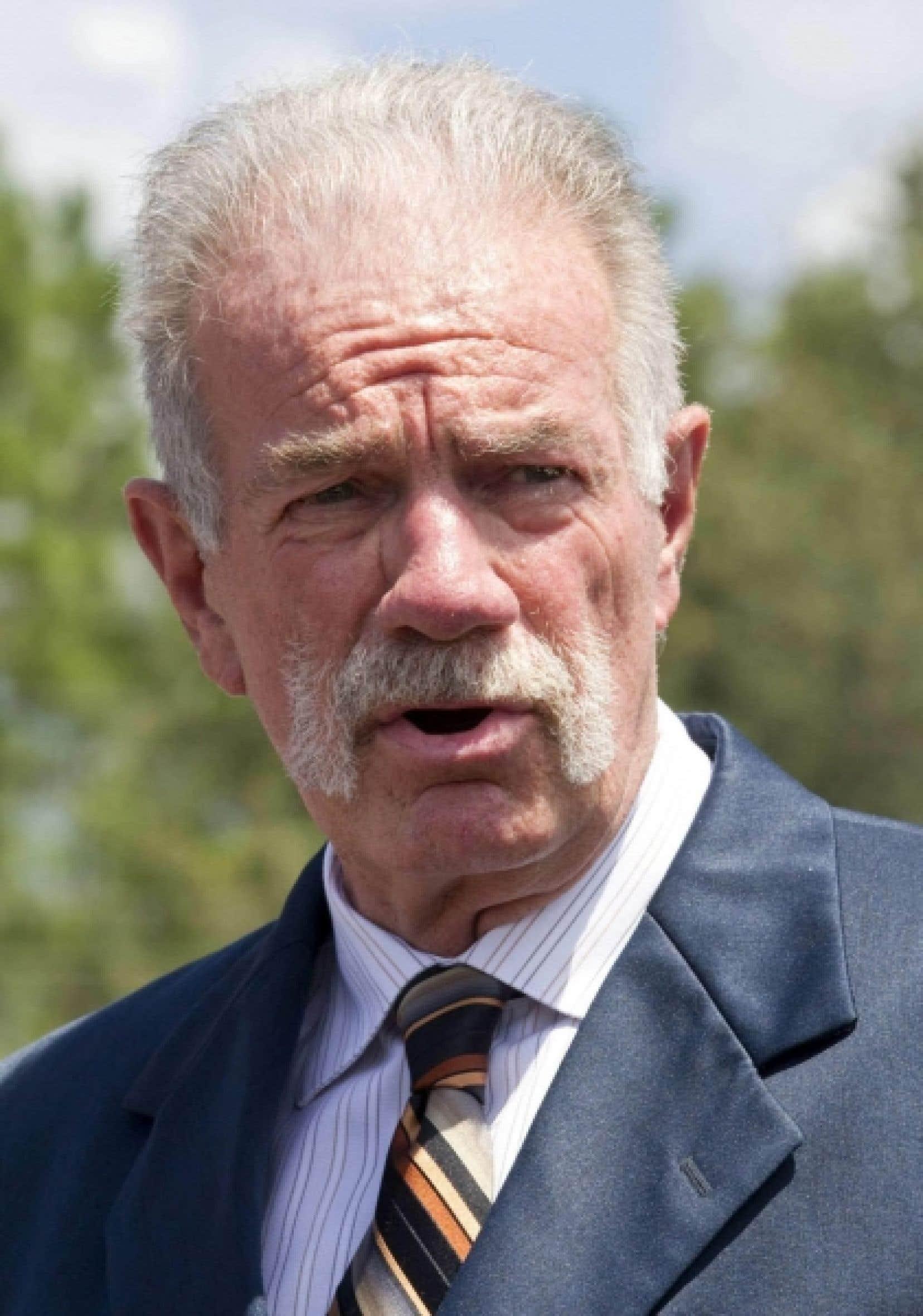 Le pasteur extrémiste américain Terry Jones<br />