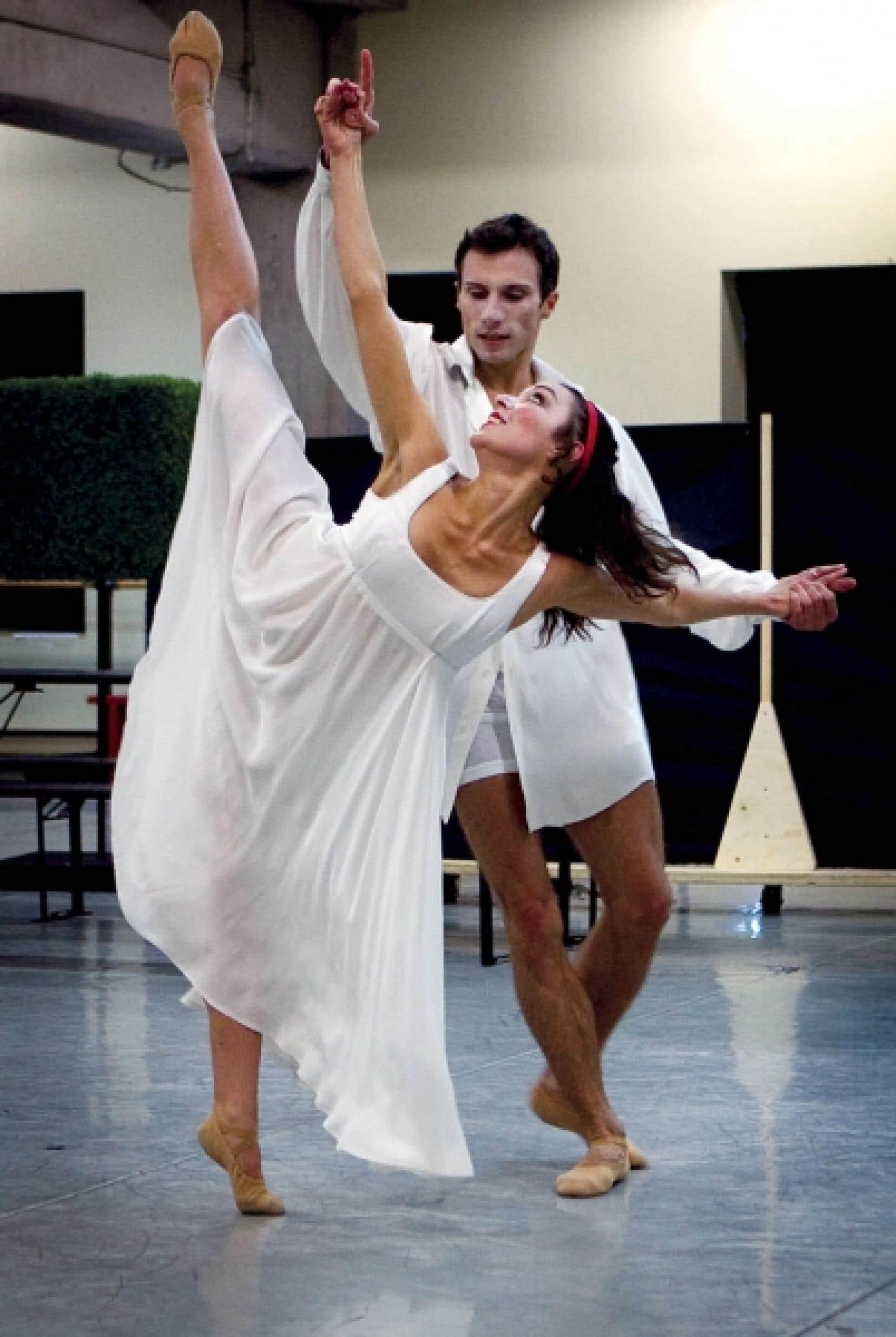 Émilie Durville et Hervé Courtain ont tenu les rôles principaux dans Léonce et Léna, présenté par les GBC en octobre dernier.<br />