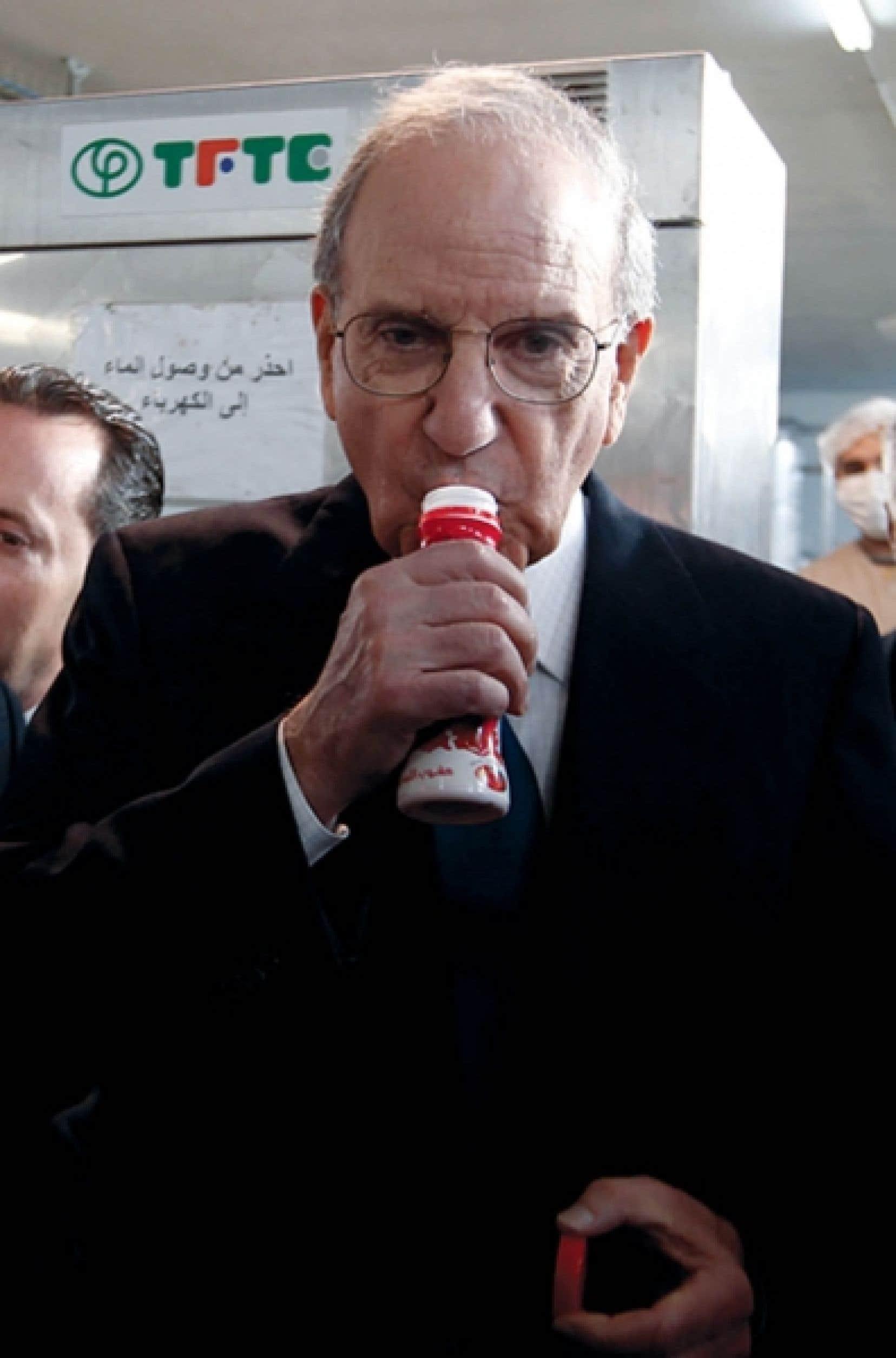 L'émissaire américain George Mitchell a proposé des dis-cussions «parallèles».<br /> <br />