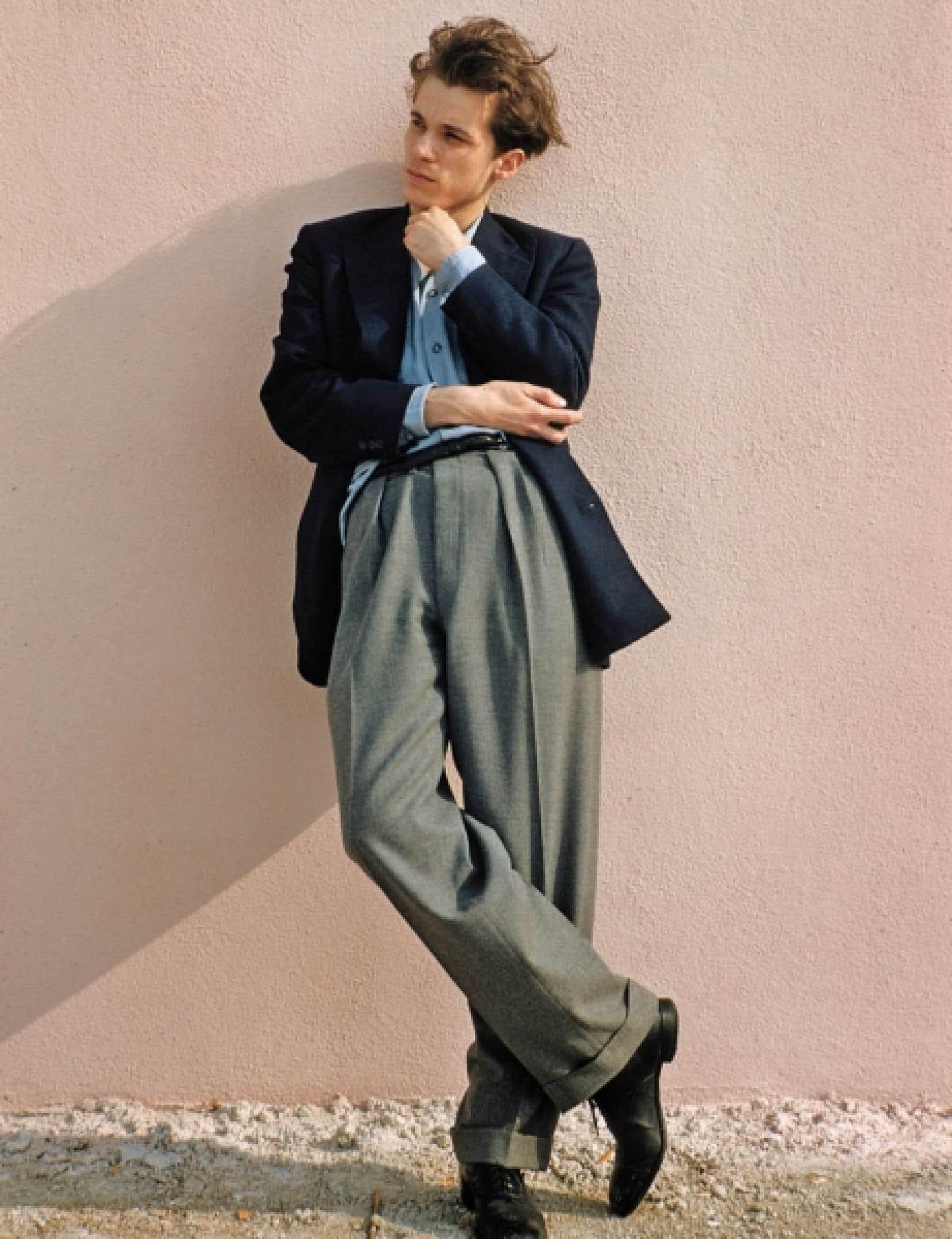 Glenn Gould jeune, tel qu'on peut le voir dans le film Genius Within, de Peter Raymont et Michèle Hozer<br />