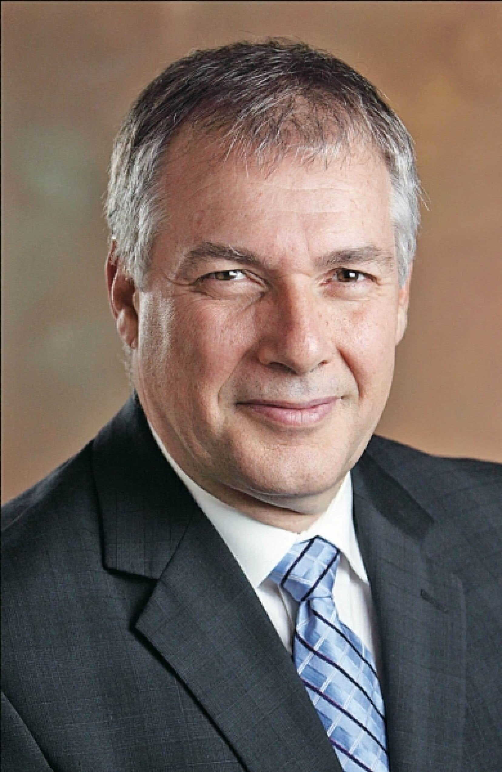 Le directeur général de l'INRS, Daniel Coderre