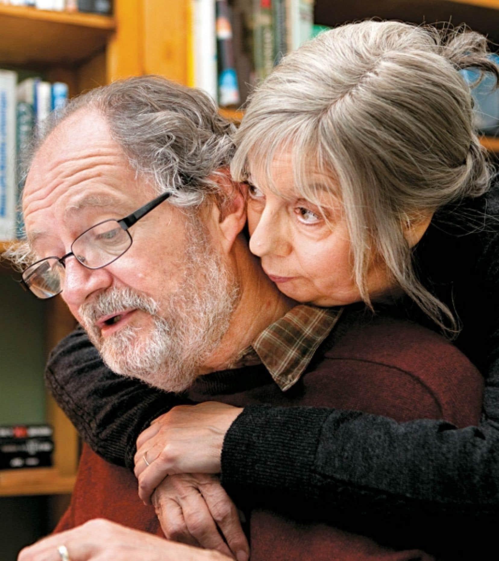 Jim Broadbent et Ruth Sheen dans <em>Another Year</em>, de Mike Leigh. <br />