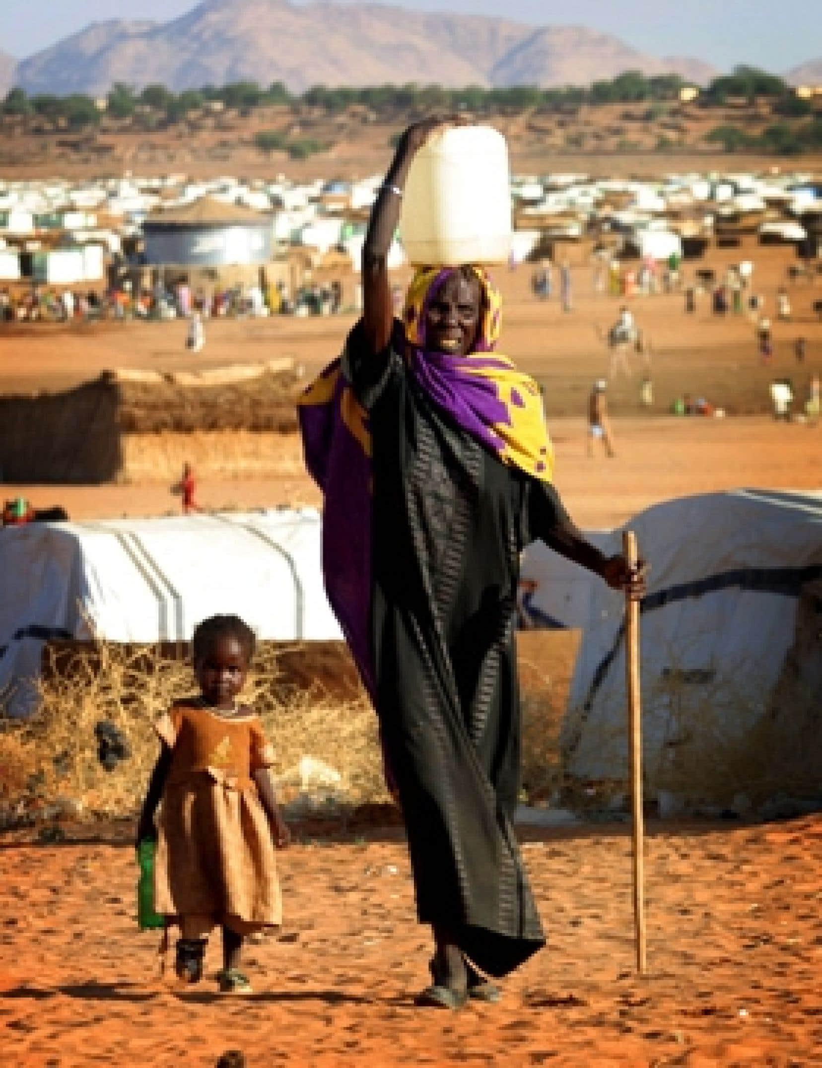 Depuis 2003, 300 000 personnes ont péri au Darfour, où les milices janjawids sèment la terreur, et un plus grand nombre encore ont été déplacées.