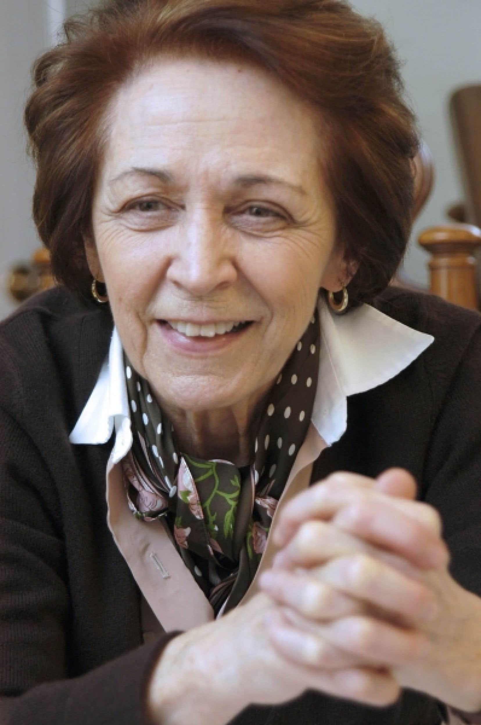Selon Marie-Andrée Bertrand, le droit pénal n'a jamais été le bon outil pour s'attaquer aux problèmes d'abus de substances.<br />