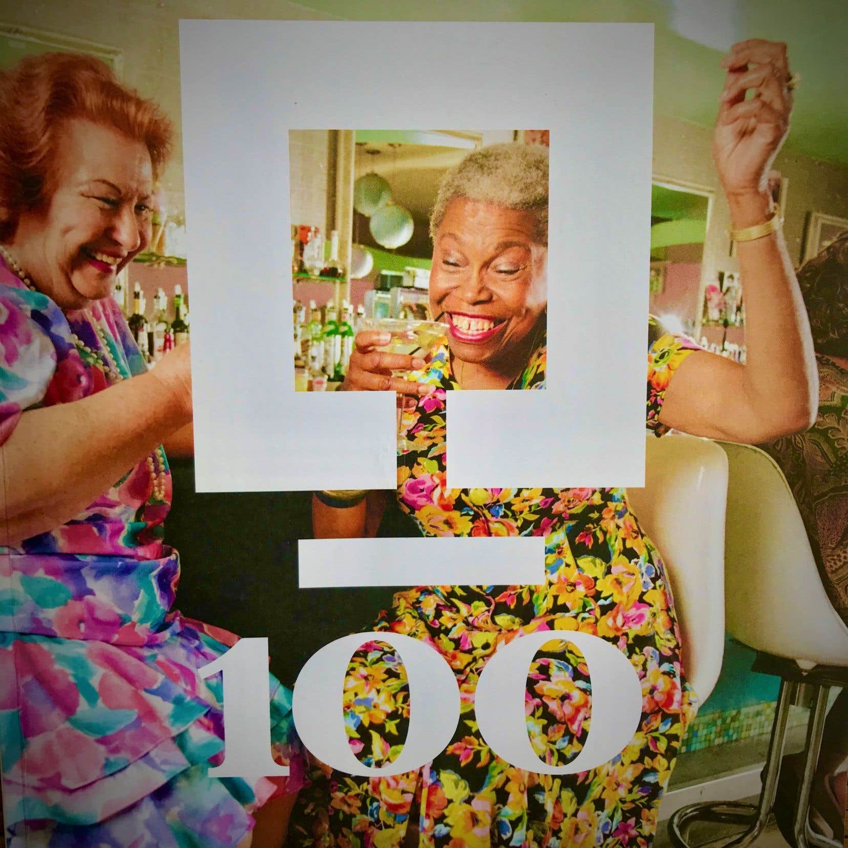 Le visuel anniversaire de la SAQ, qui souffle 100 bougies cette année.