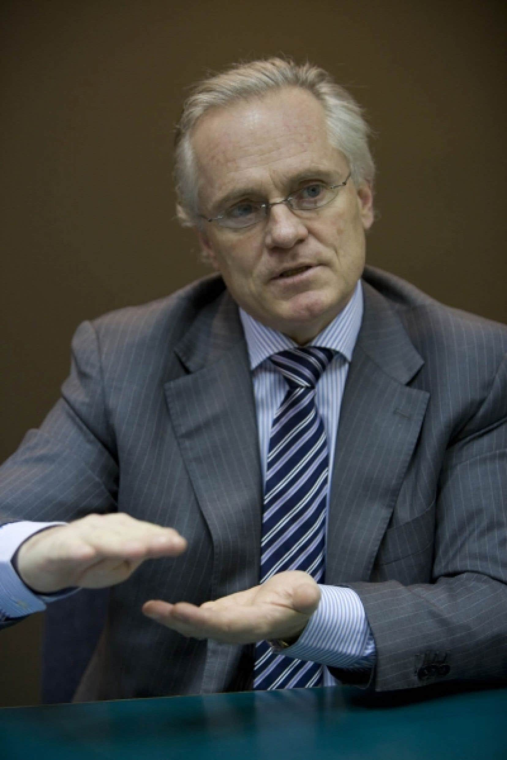Le président-directeur général de Questerre, Michael Binnion