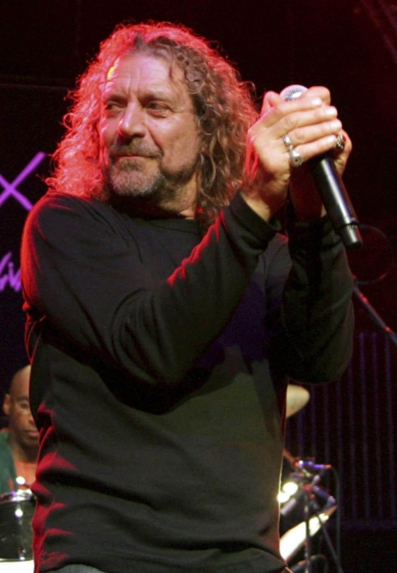 Robert Plant sera en préouverture du Festival de jazz de Montréal à la salle Wilfrid-Pelletier.