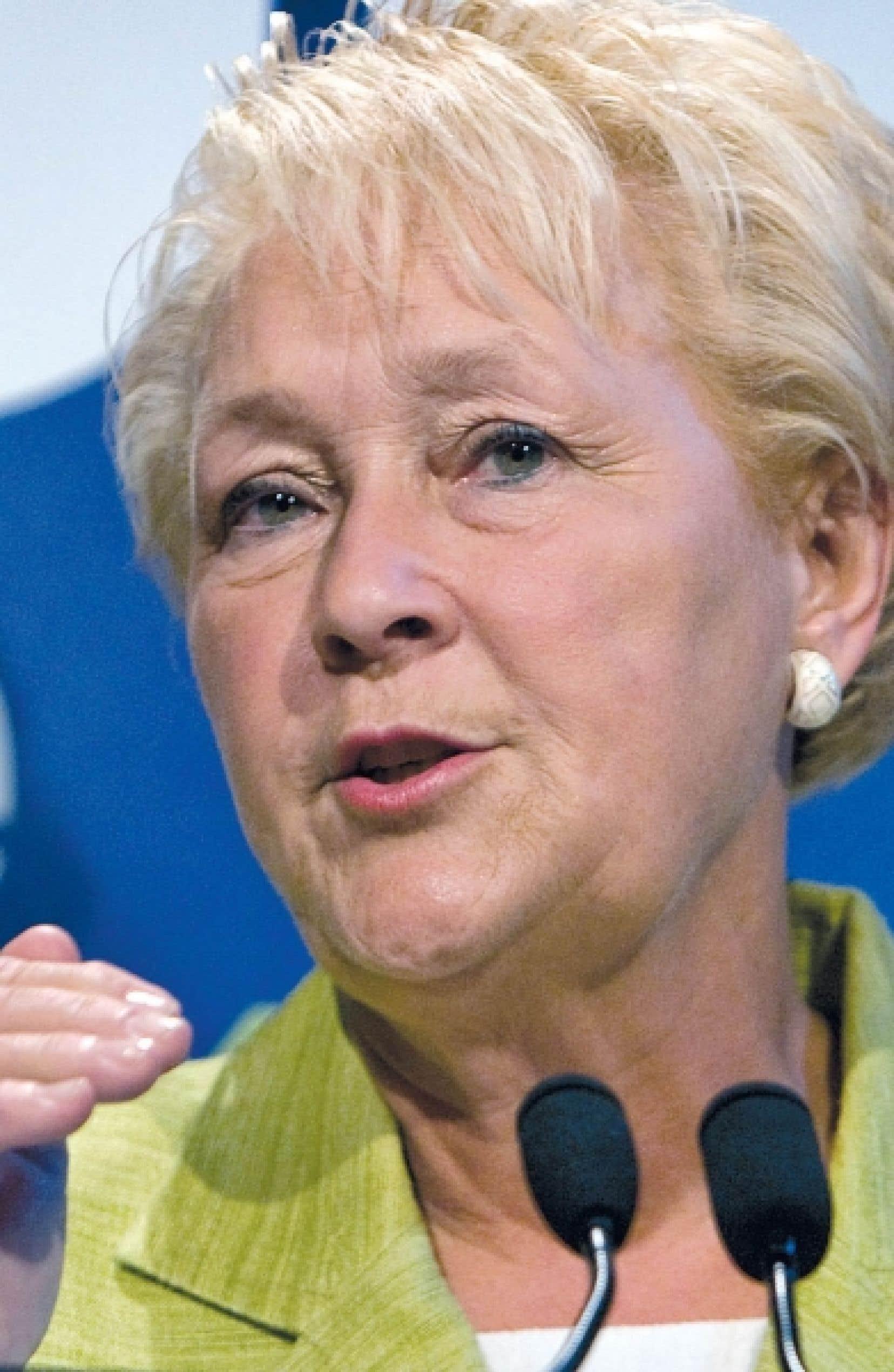 Selon Pauline Marois, le gouvernement a une part de responsabiltié dans l'effondrement d'une poutre du tunnel Viger.<br />
