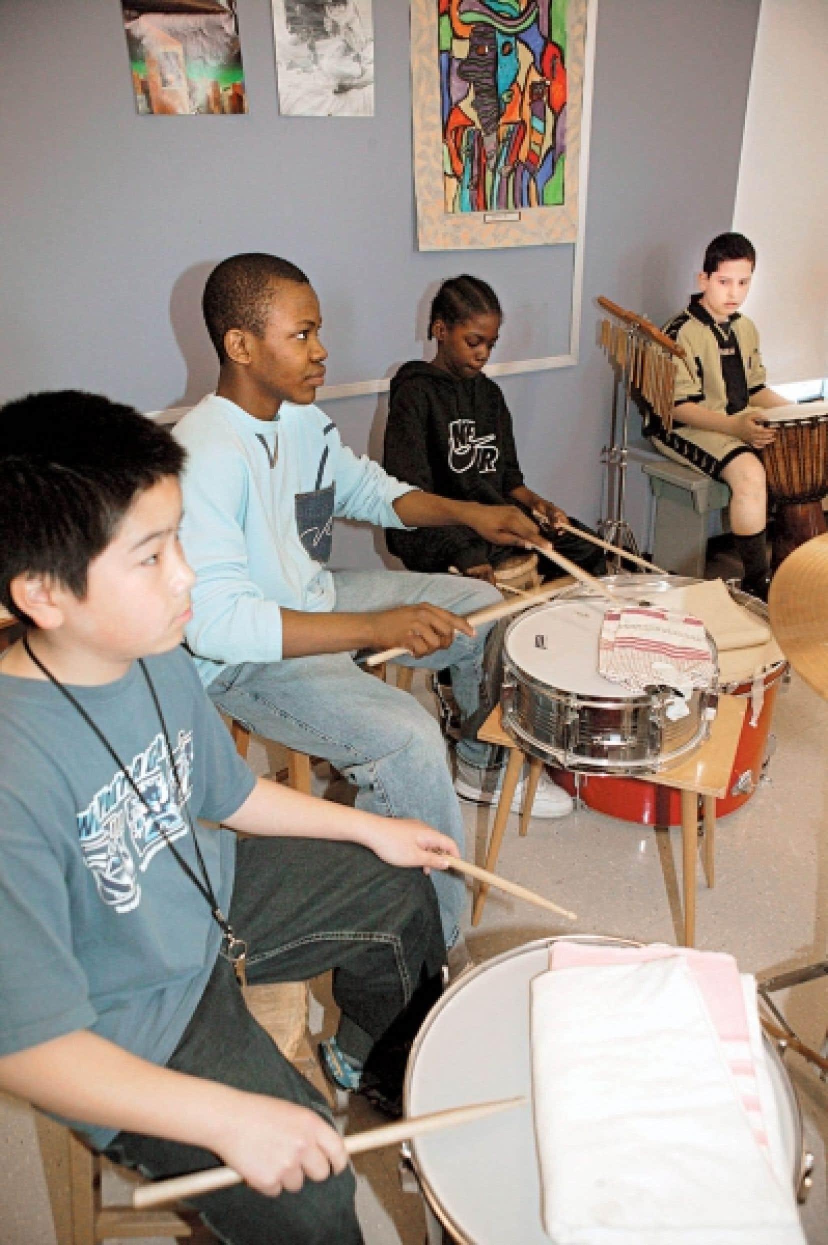 L'enseignement de la musique a connu un léger déclin dans les écoles du Québec depuis qu'il n'est plus obligatoire. <br />