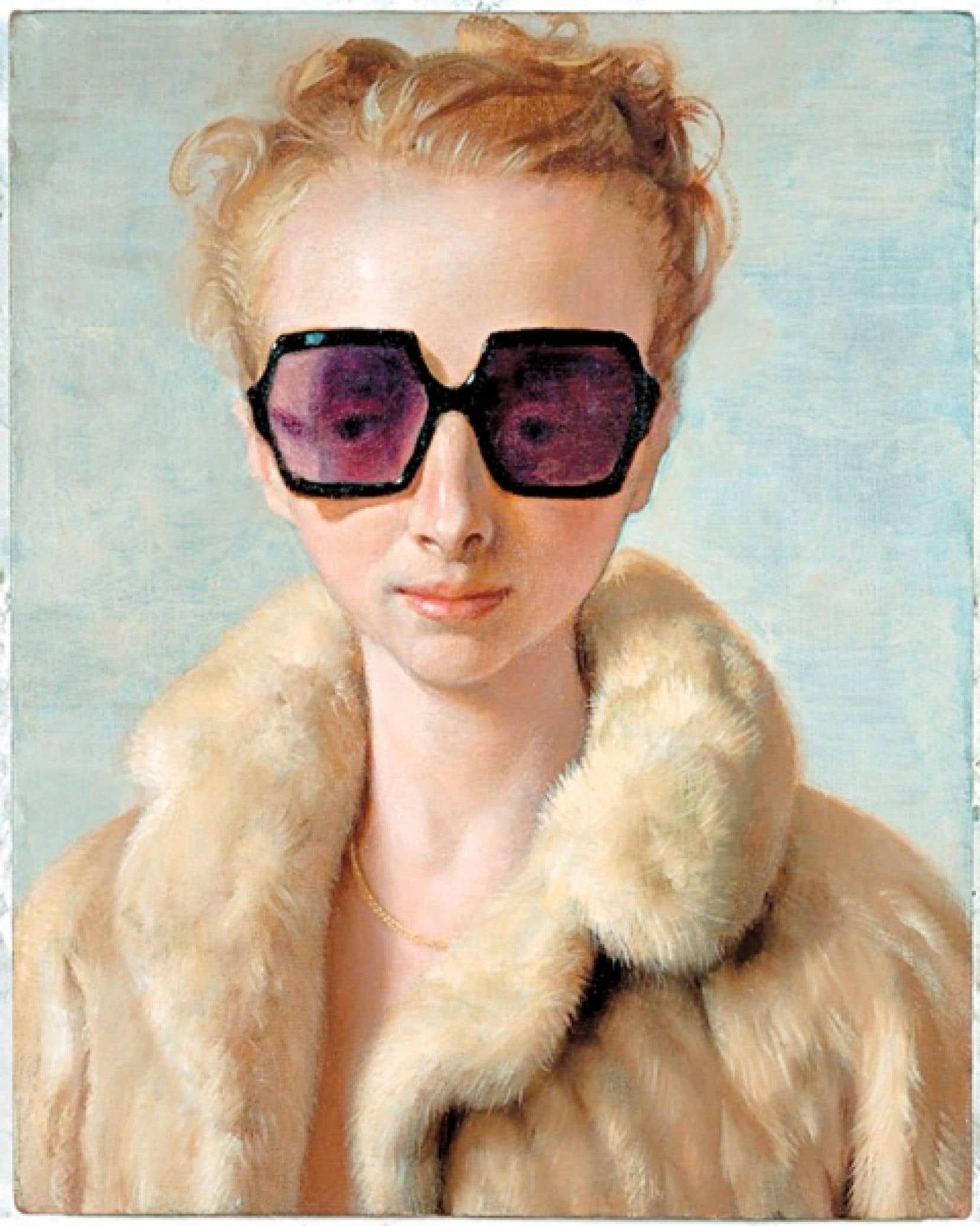 Rachel in Fur (2002), de John Currin<br />