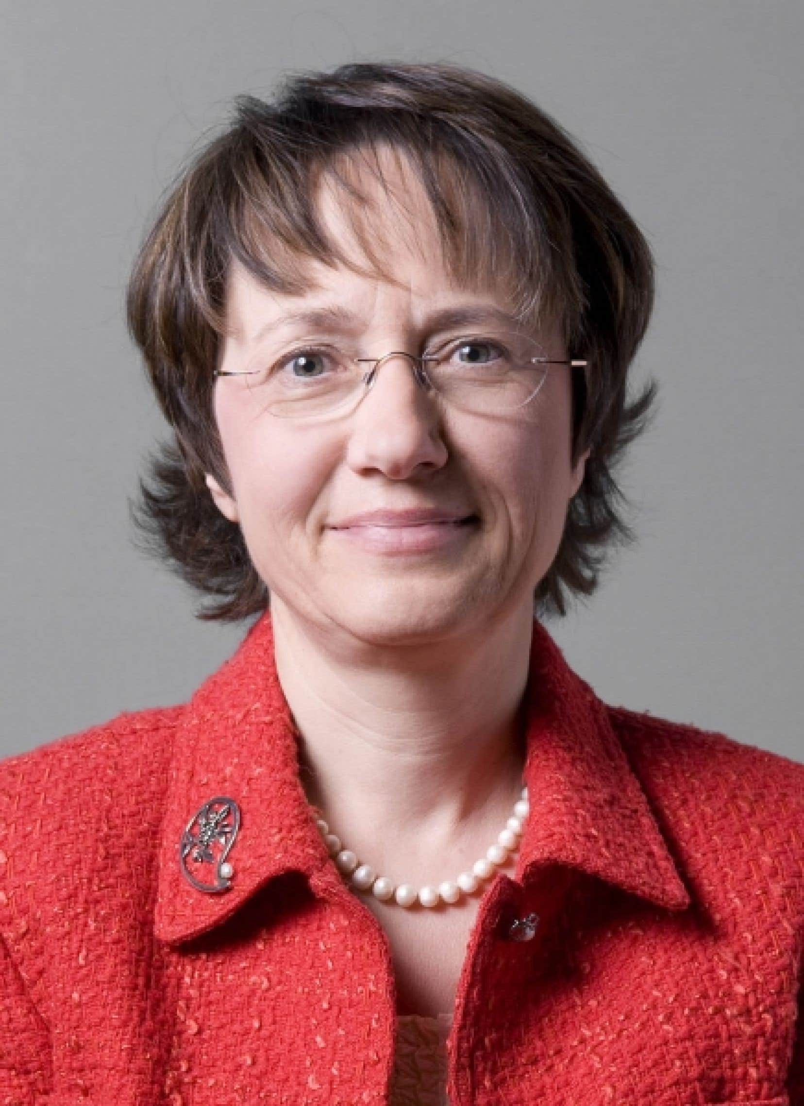 Christine Colin, professeure de santé publique et présidente du conseil scientifique de l'AUF<br />
